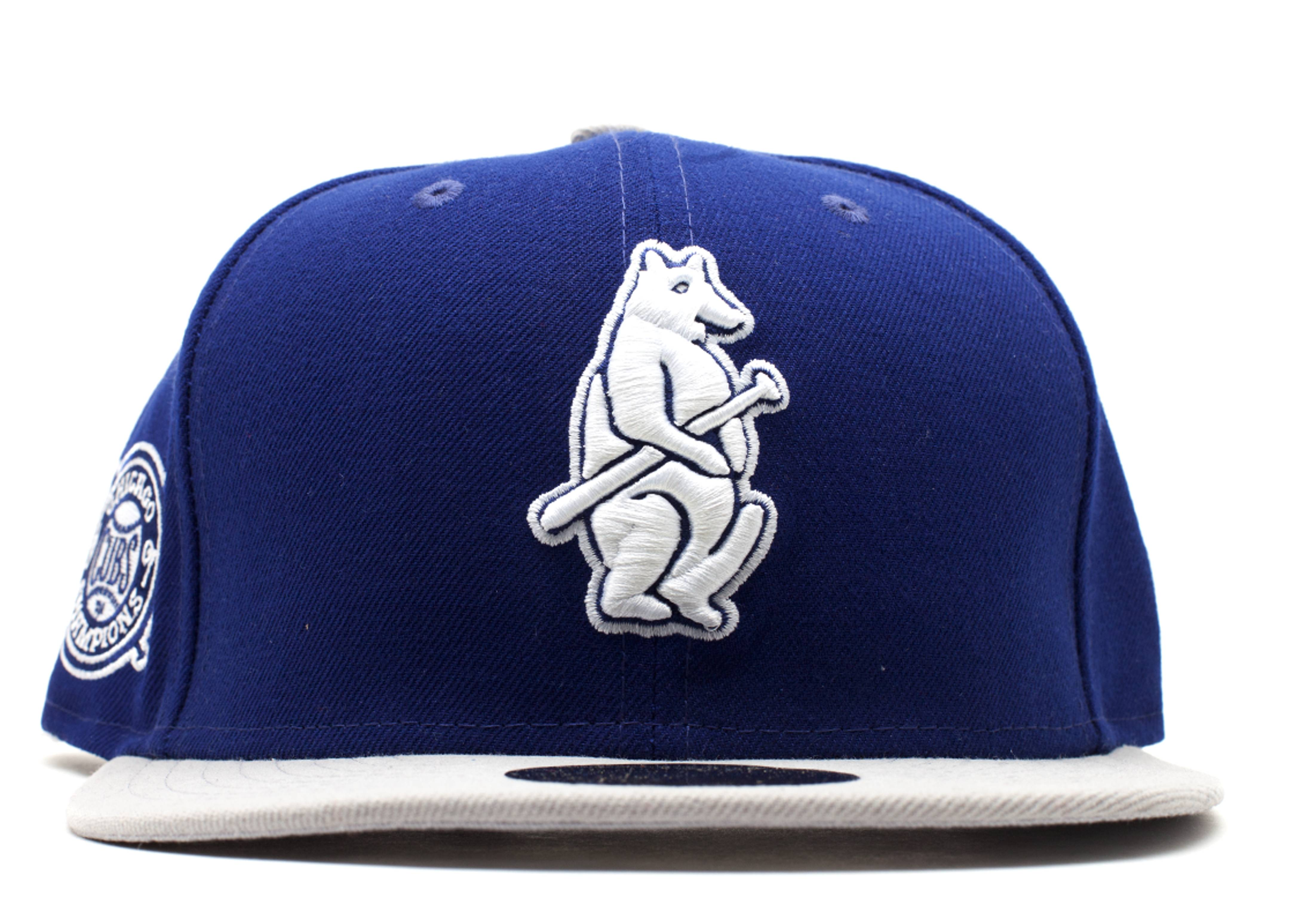 """chicago cubs fitted """"1907 world series patch"""""""