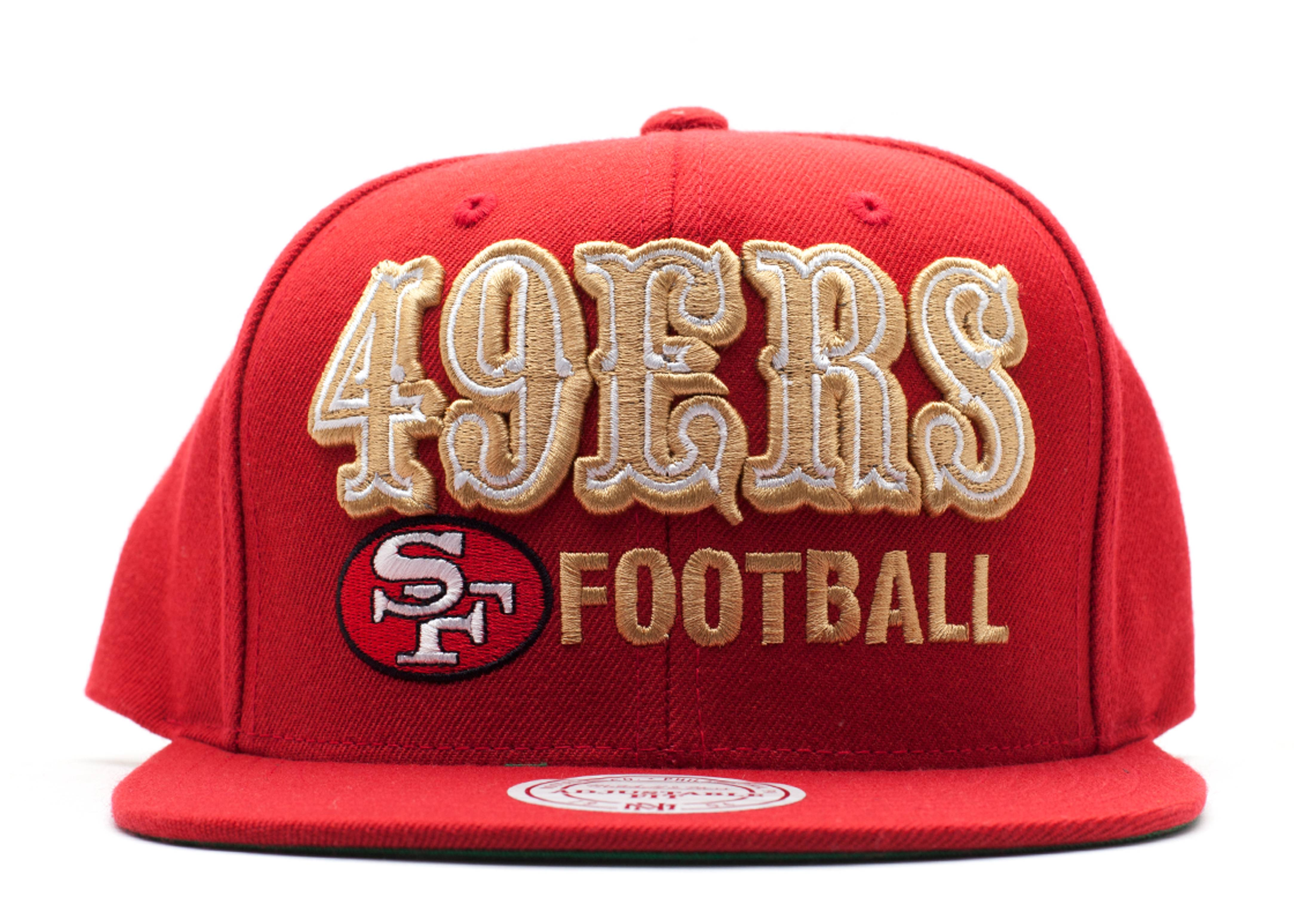 san francisco 49ers snap-back