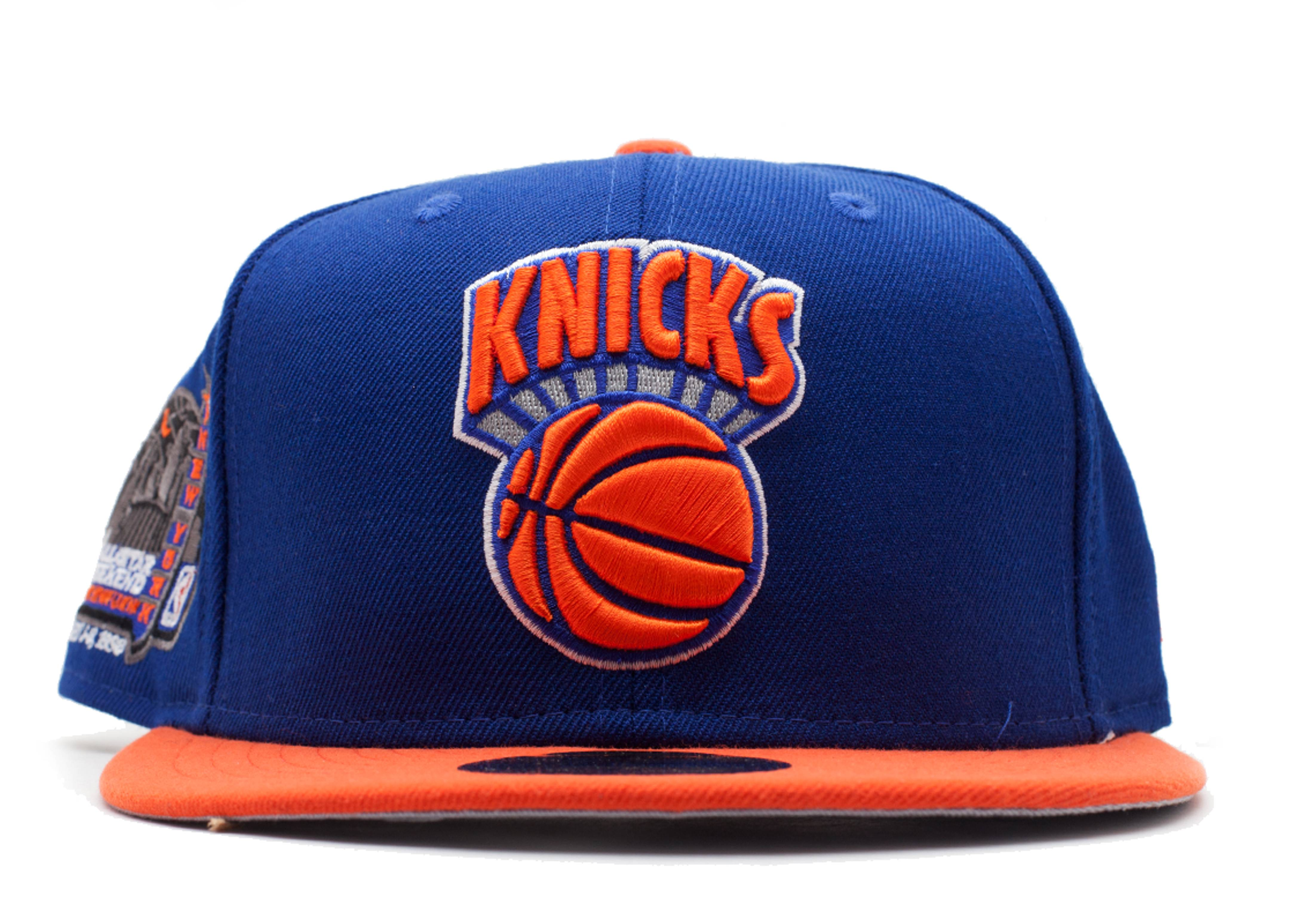 "new york knicks fitted ""1998 all-star weekend side patch"""