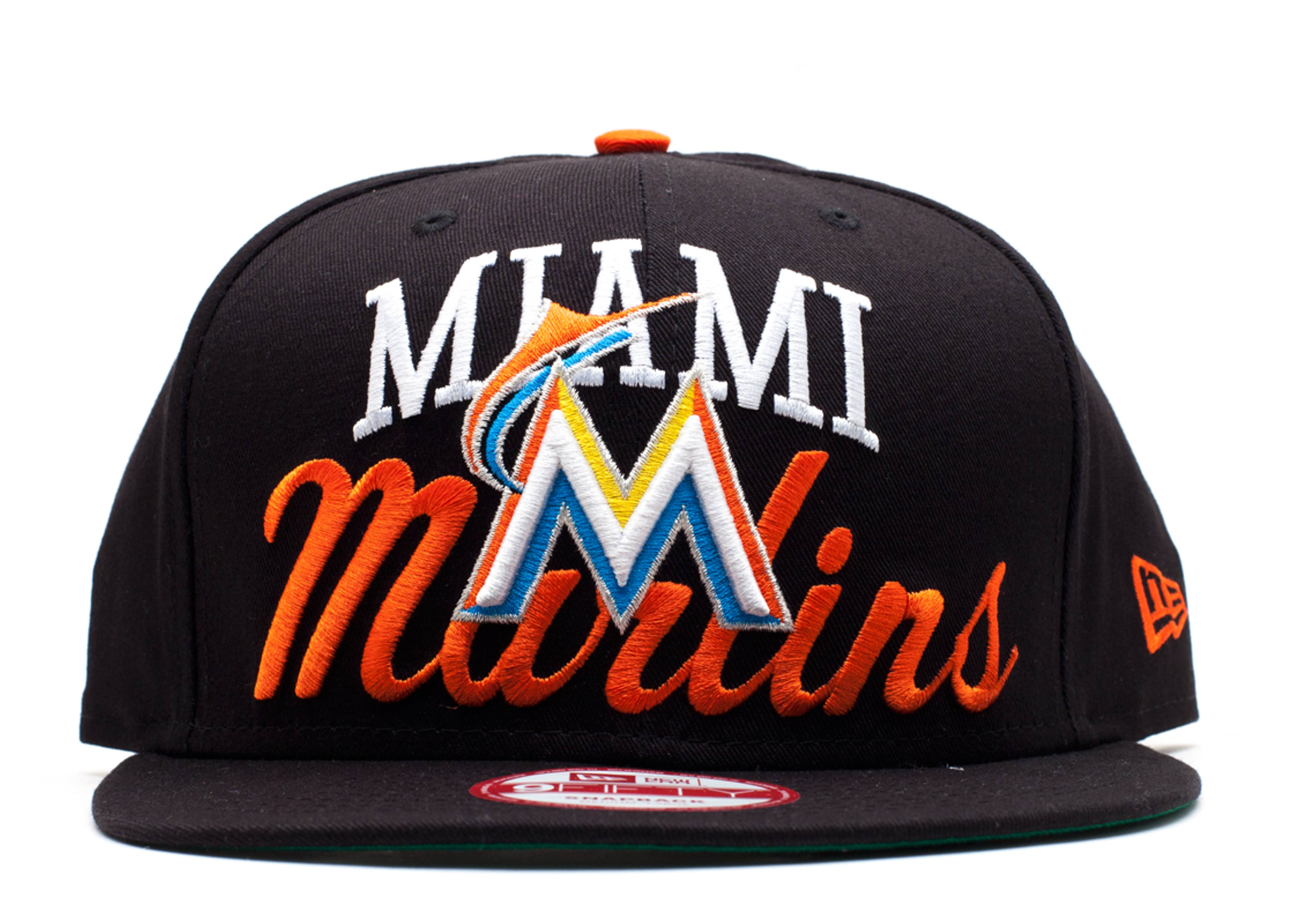 miami marlins snap-back