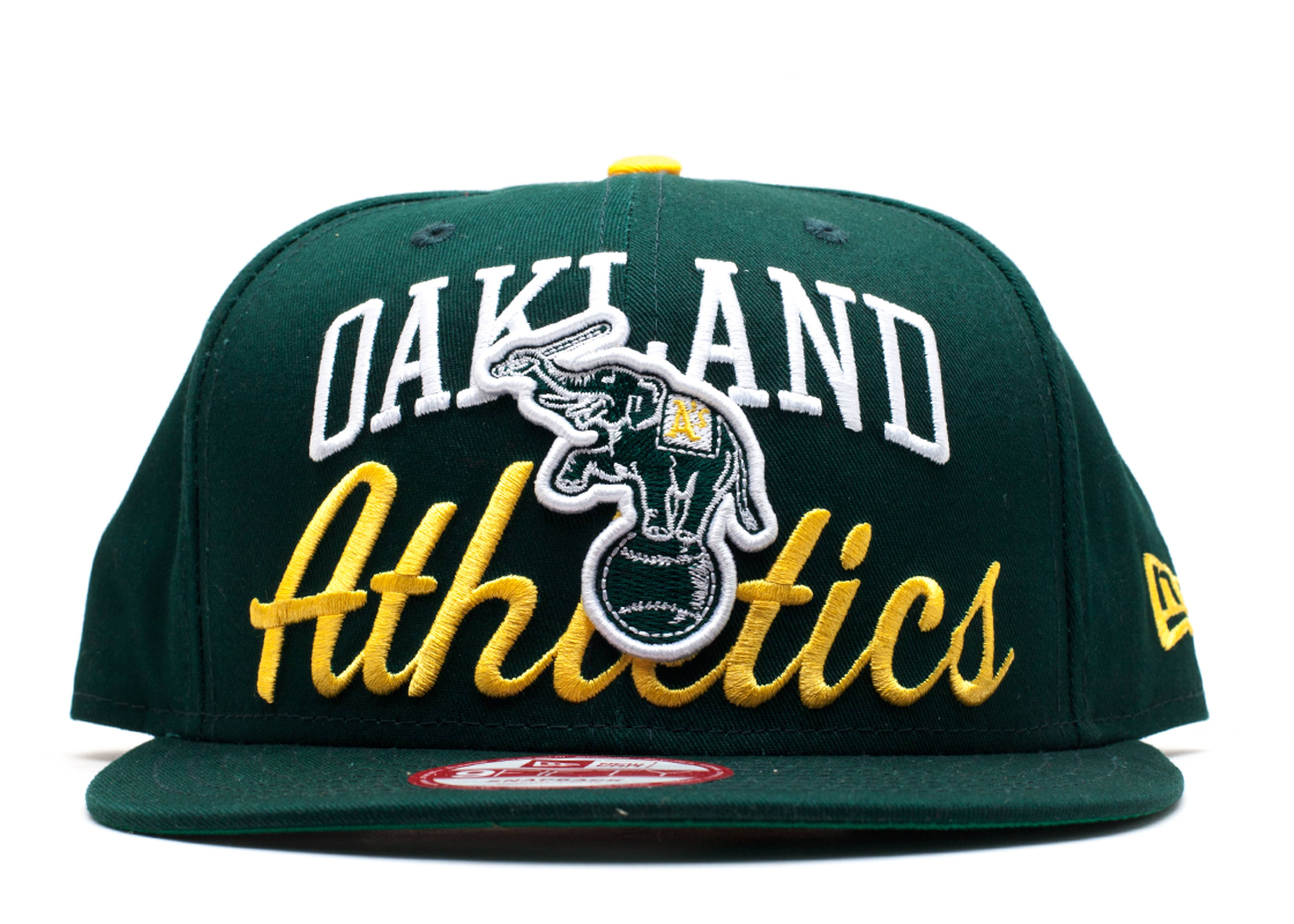 oakland athletics snap-back