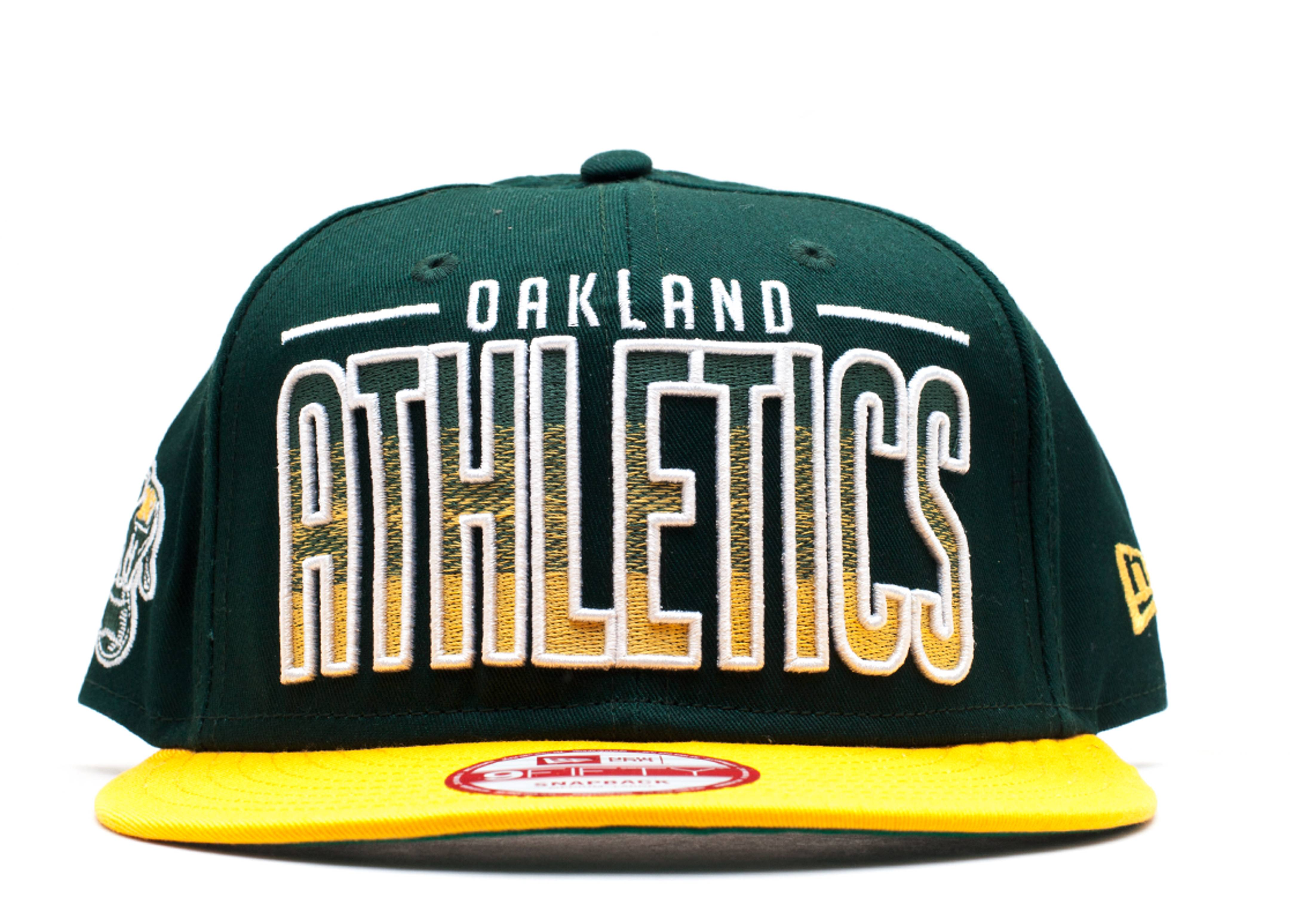 okland athletics snap-back