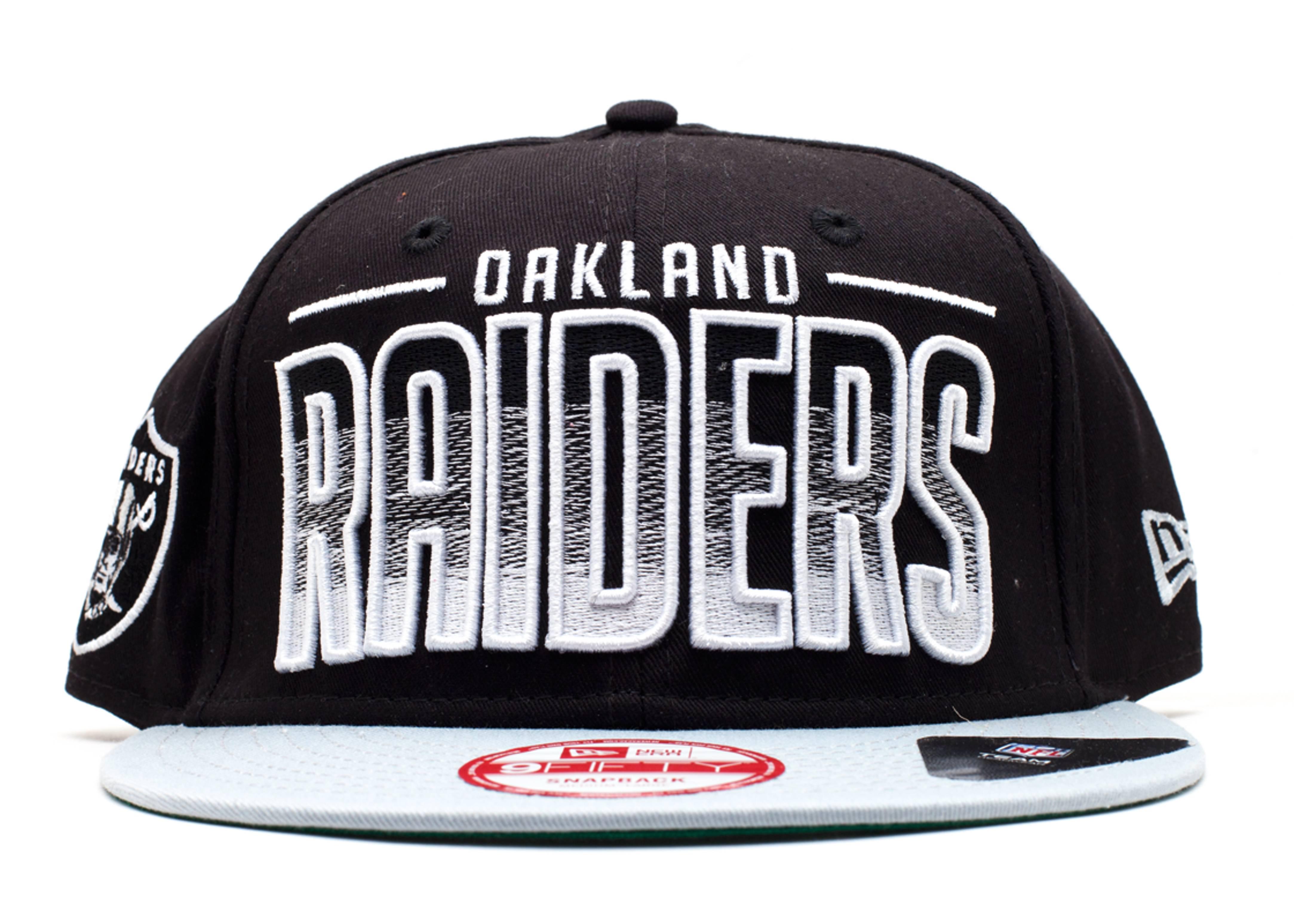 okland raiders snap-back