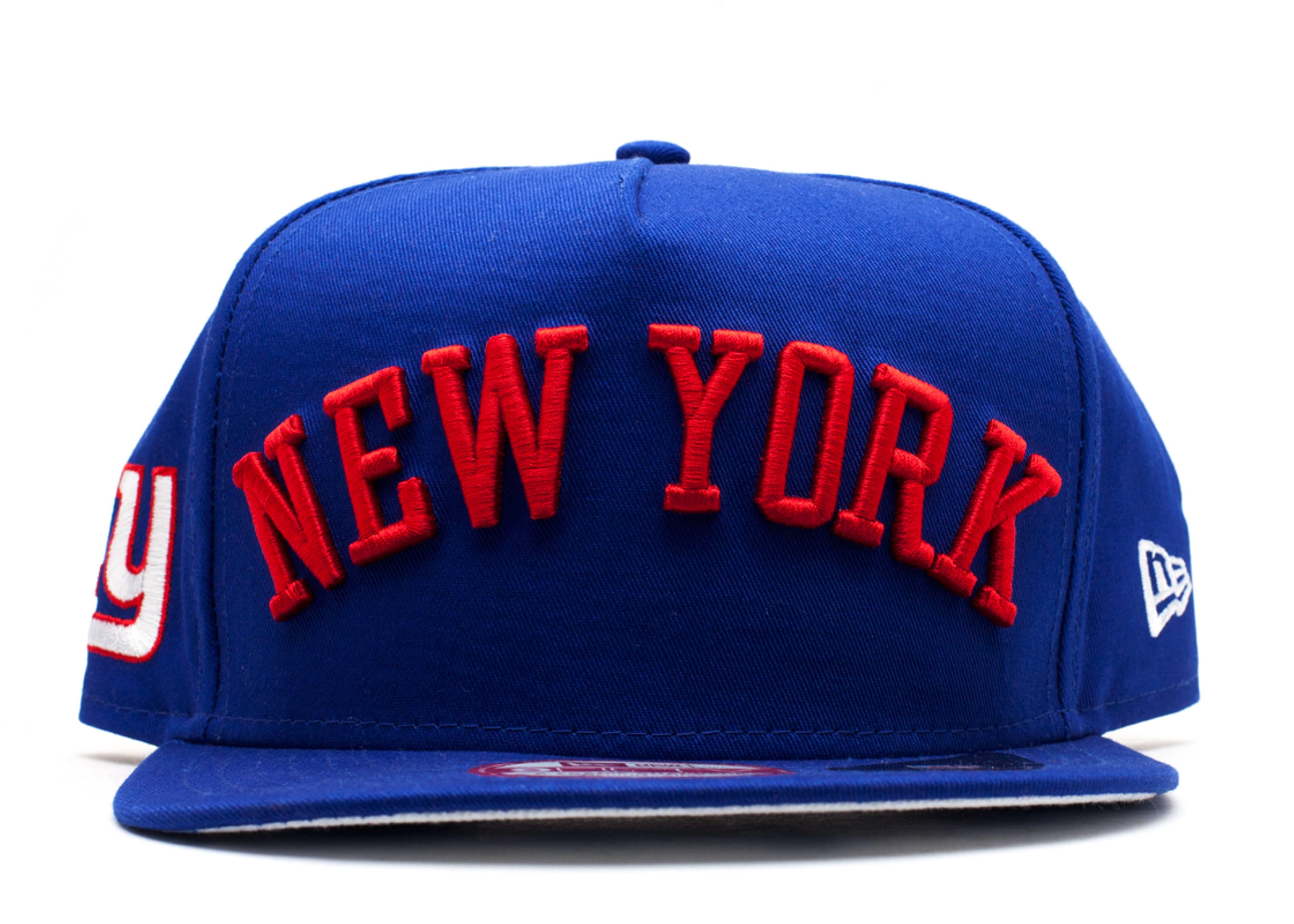 "new york giants snap-back ""city skyline underbrim"""