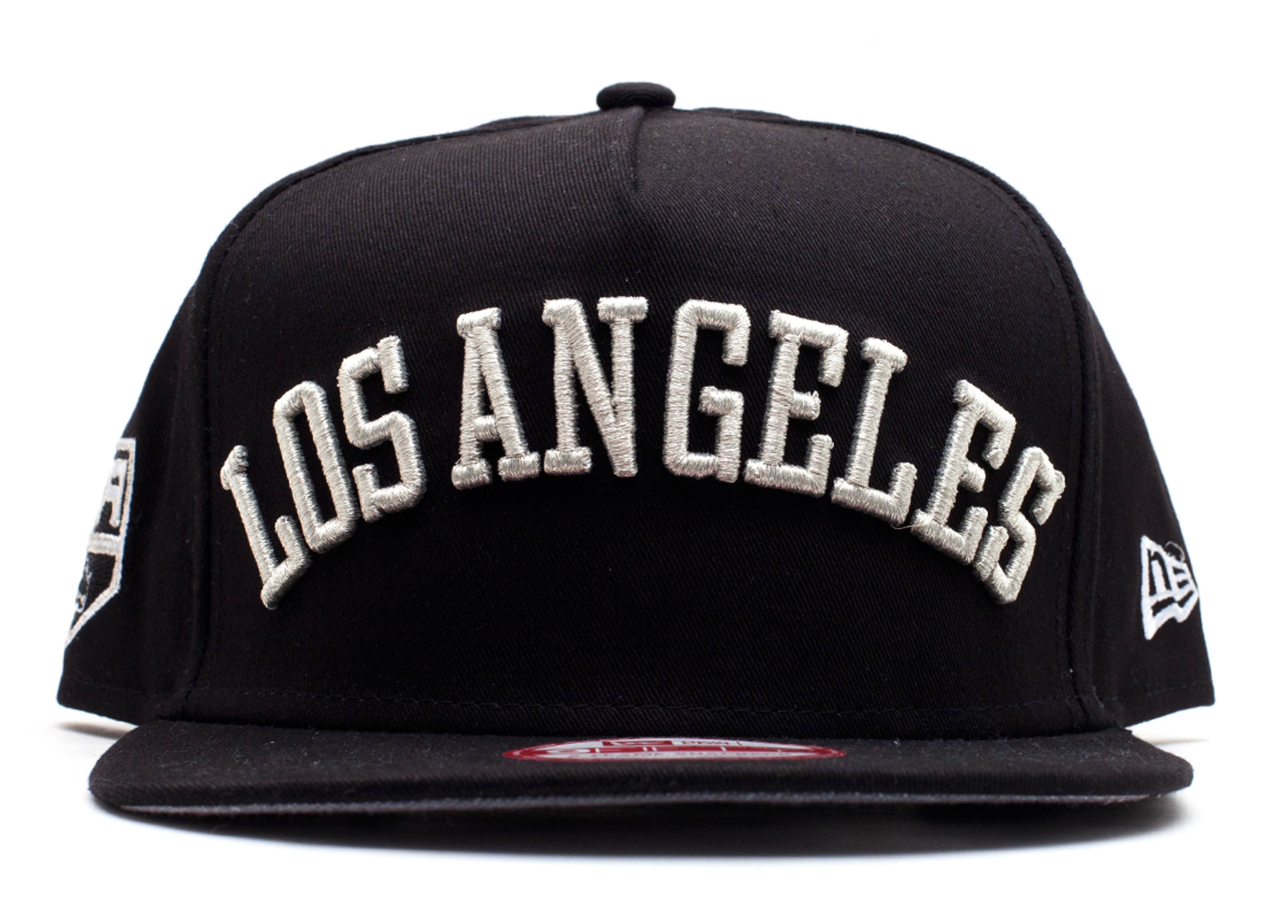 "los angeles kings snap-back ""city skyline underbrim"""