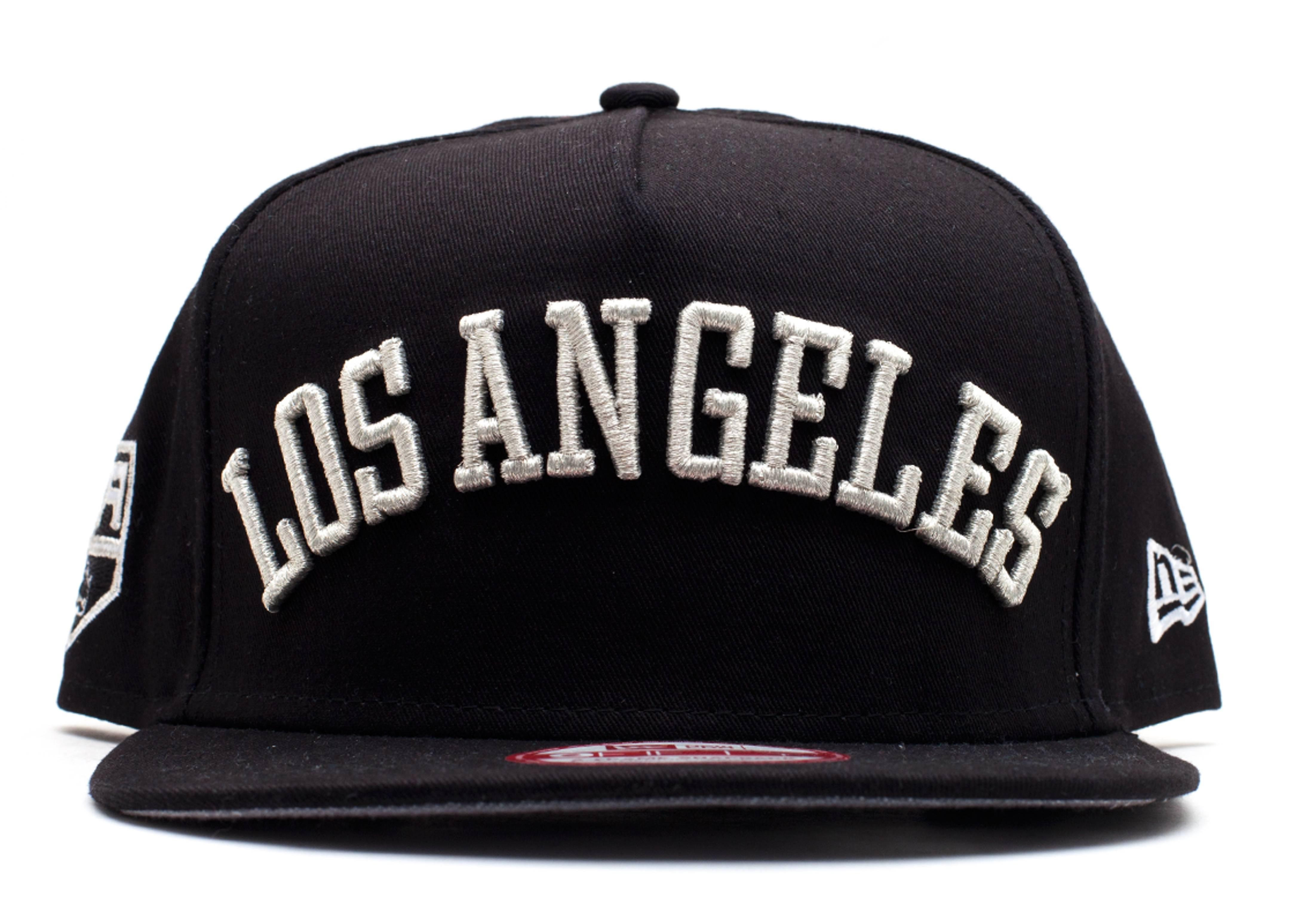 "los angeles kings snap-back ""city skyline underbrim"""