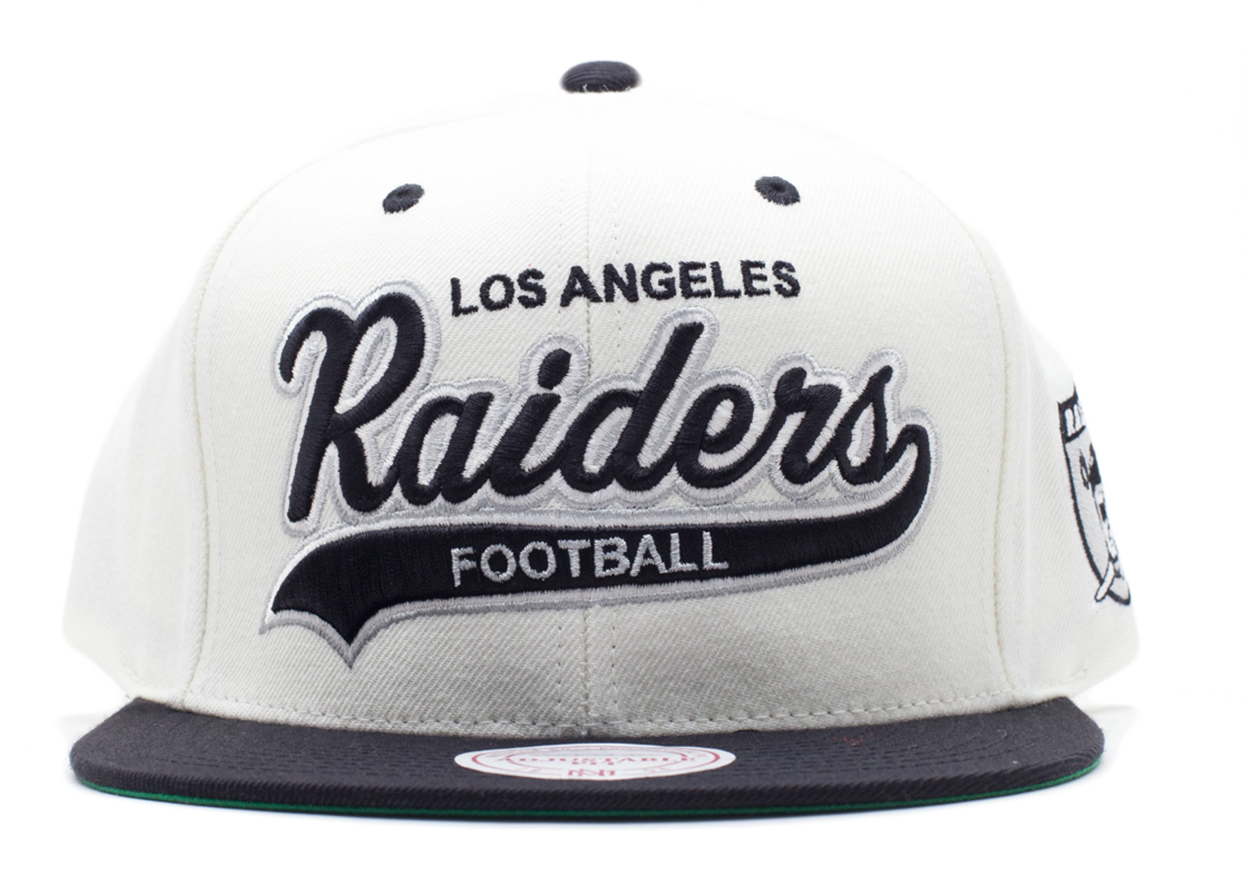 los angeles raiders snap-back