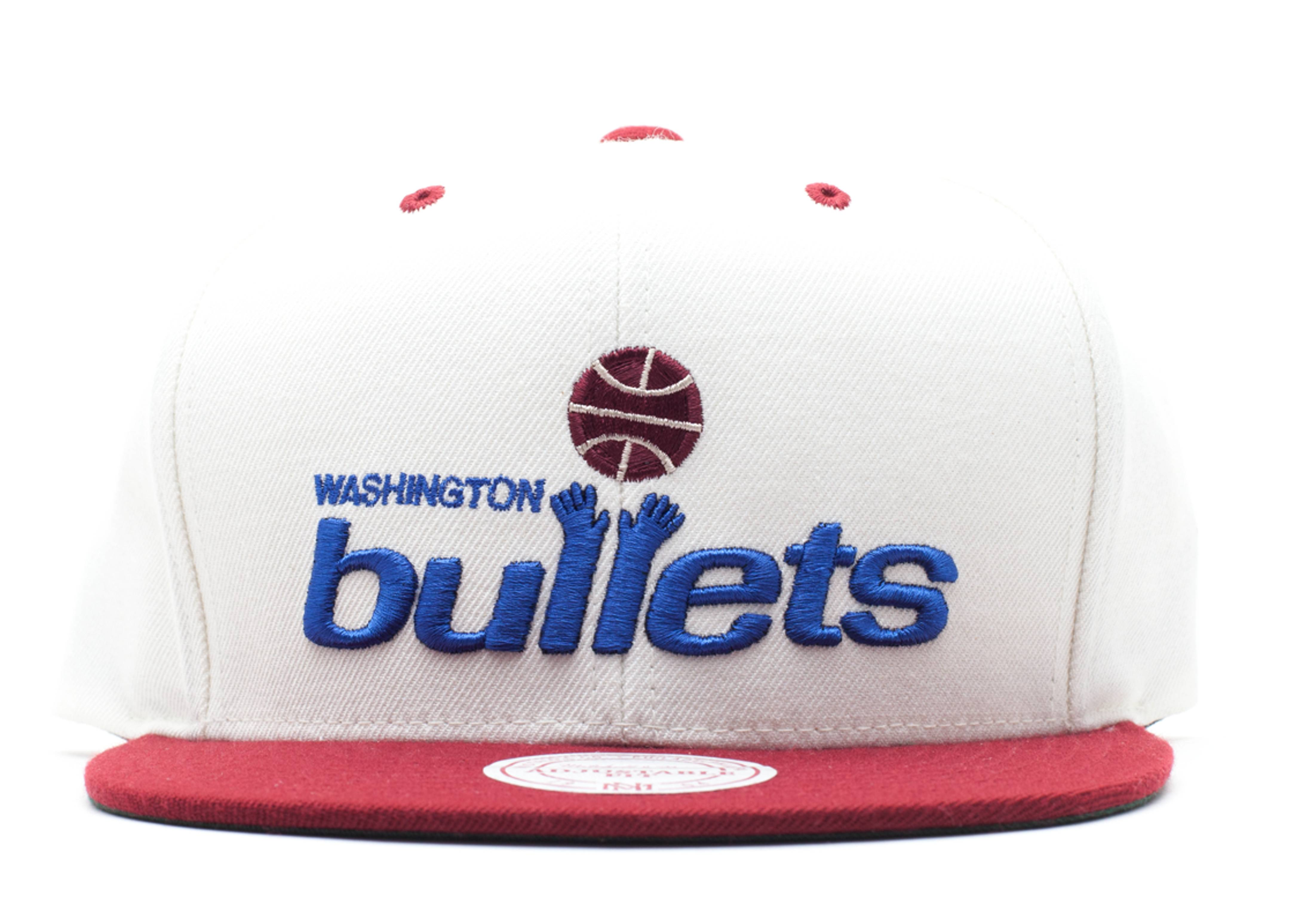 washington bullets velcro-strap