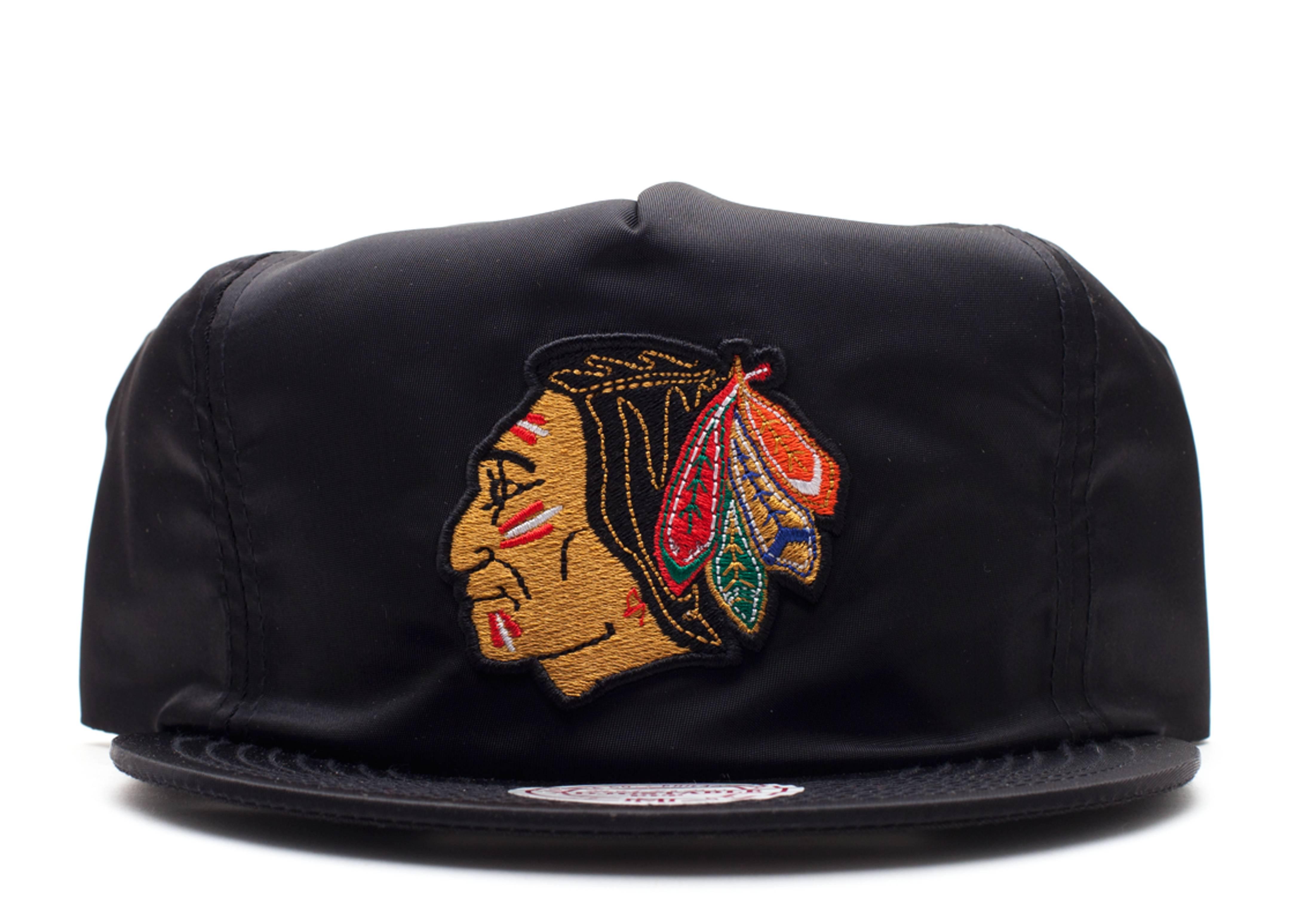 "chicago blackhawks zip-back ""nylon"""