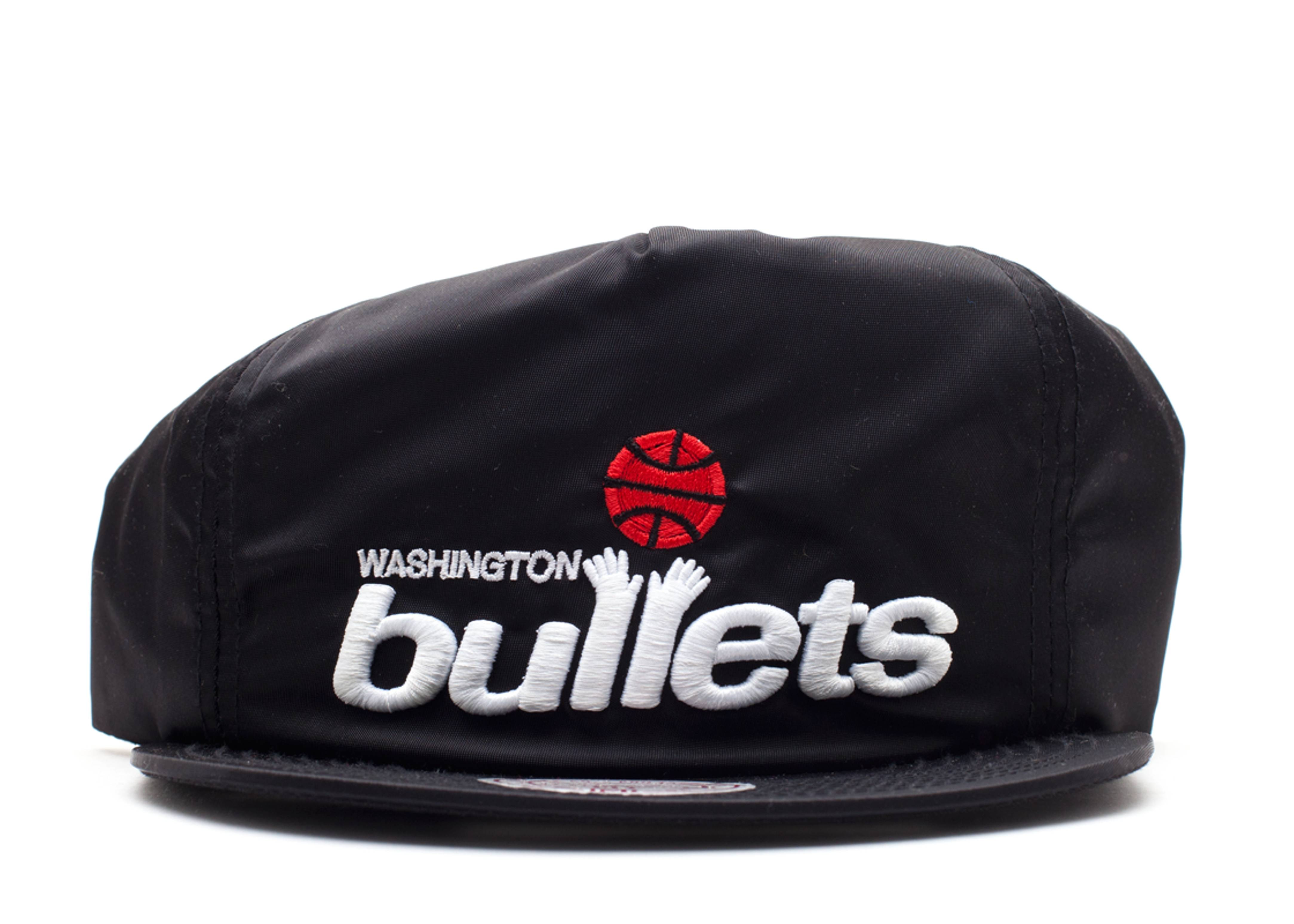 "washington bullets zip-back ""nylon"""