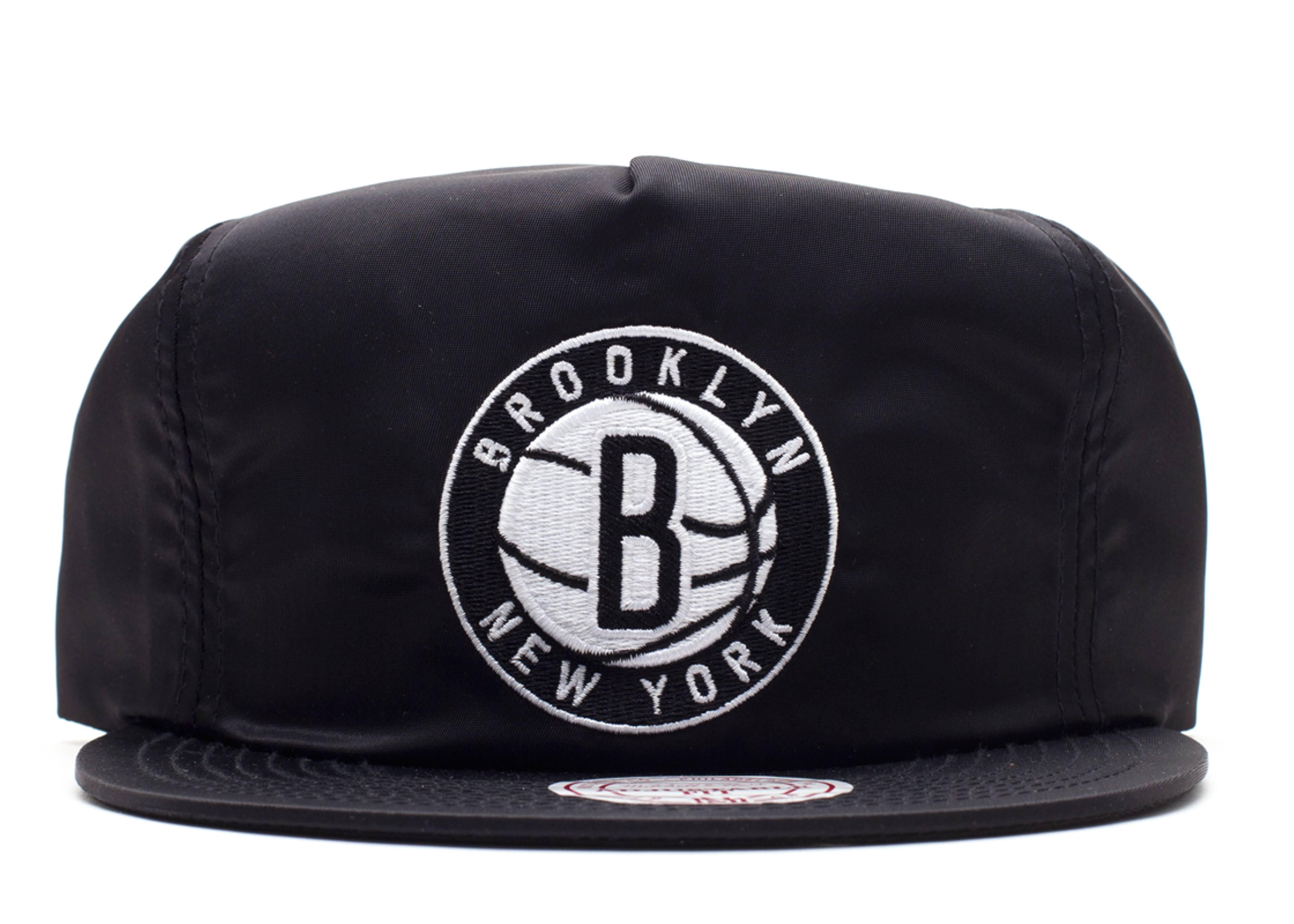 "brooklyn nets zip-back ""nylon"""