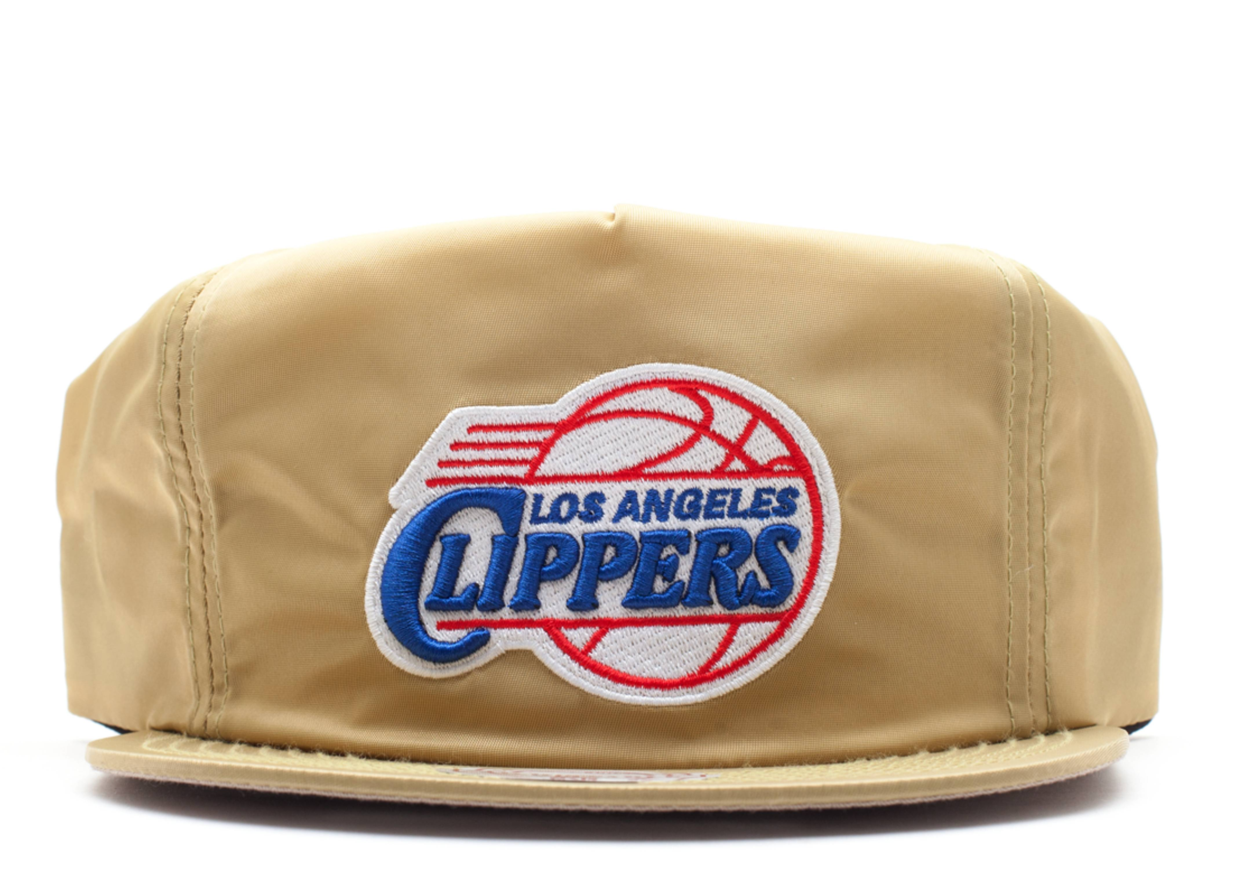 "los angeles clippers zip-back ""nylon"""
