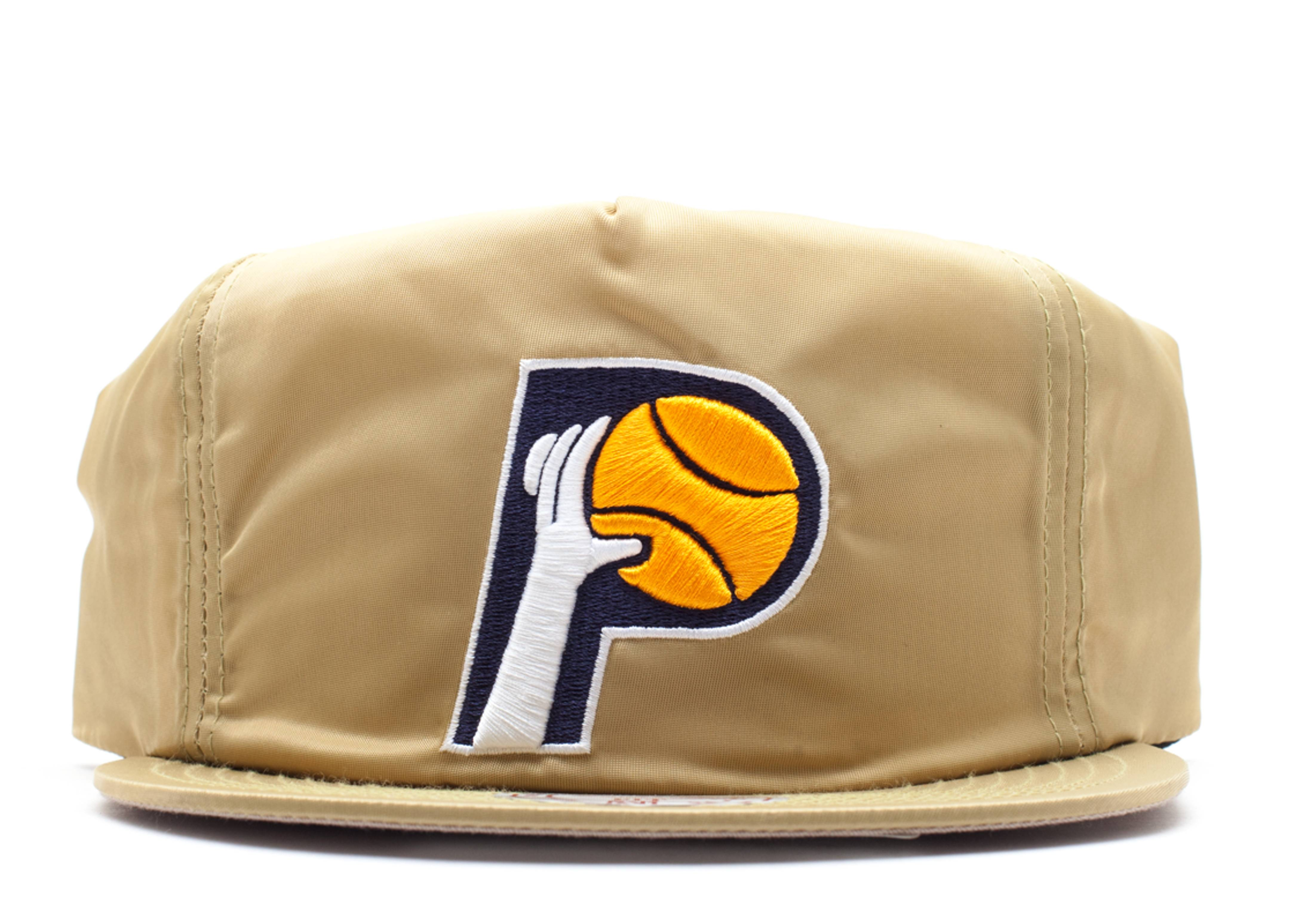"indiana pacers zip-back ""nylon"""