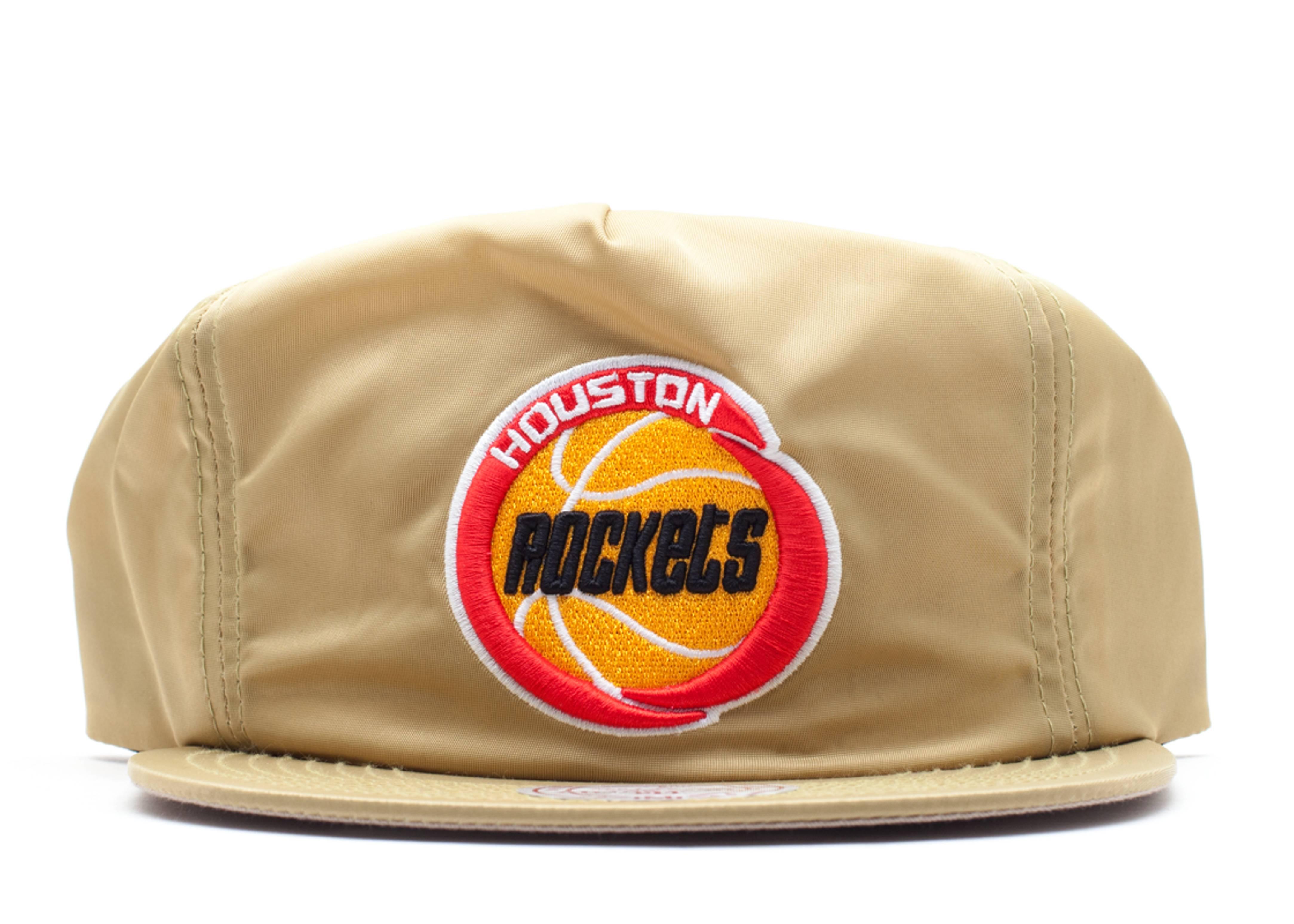 "houston rockets zip-back ""nylon"""