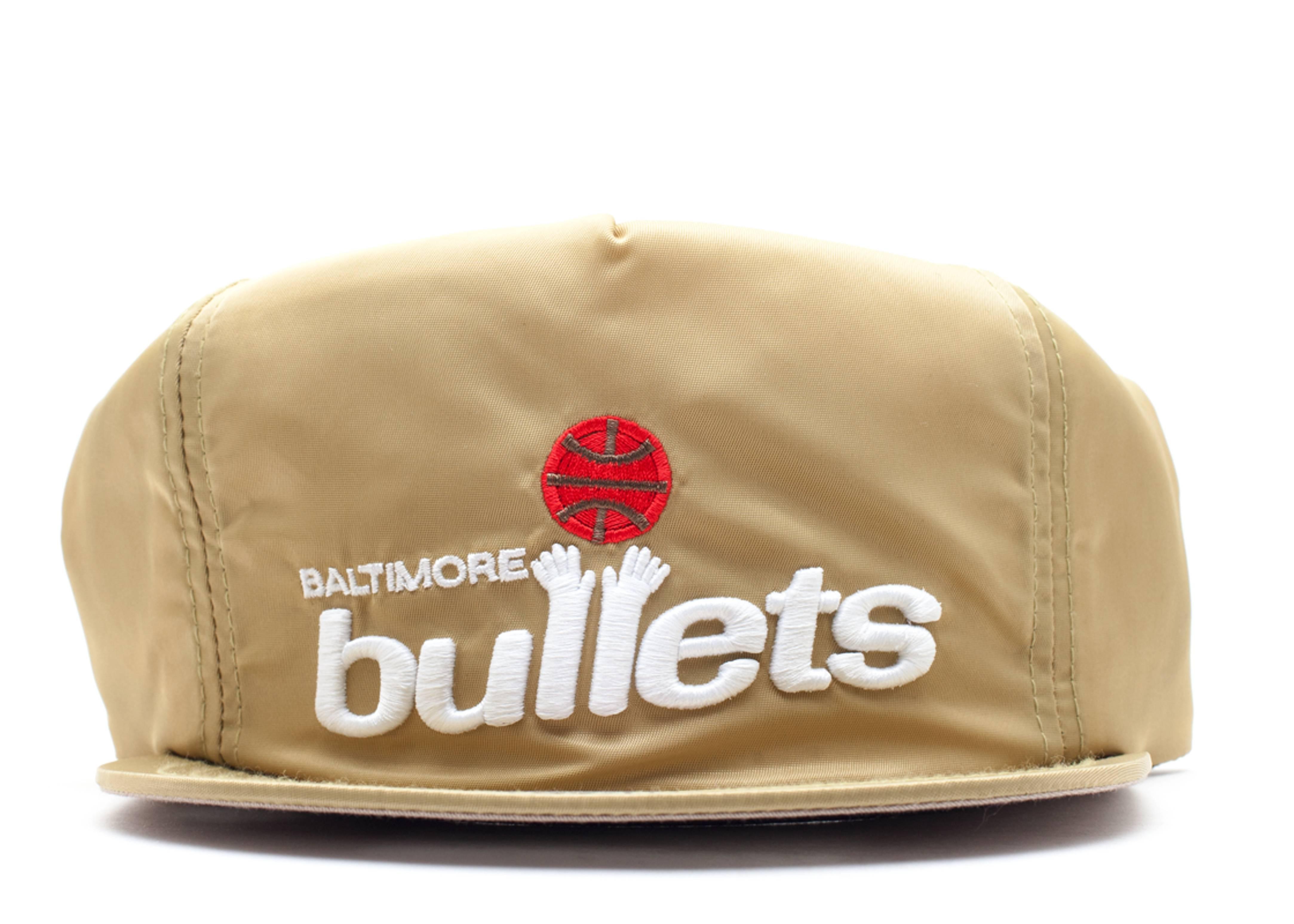 "baltimore bullets zip-back ""nylon"""