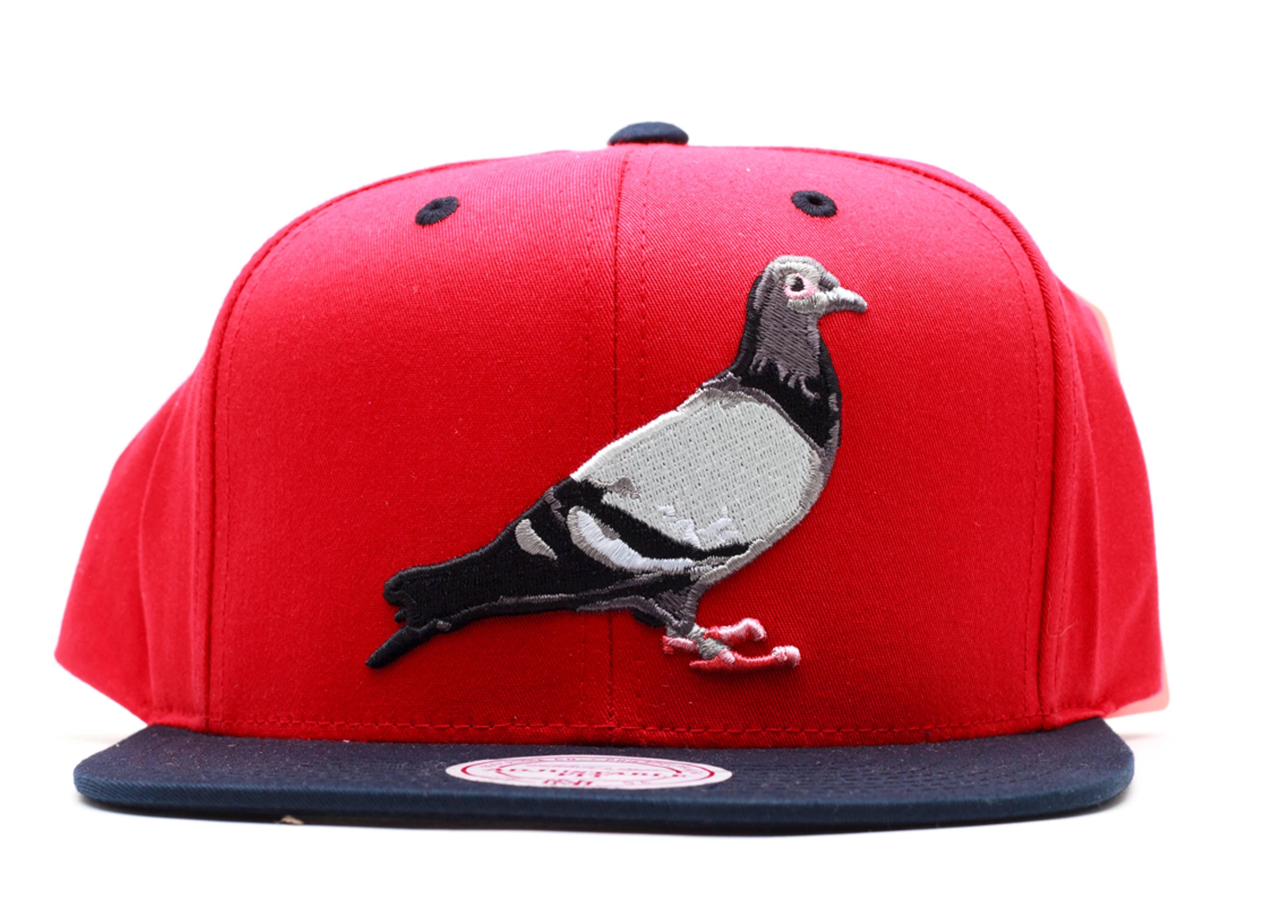 staple pigeon snap-back