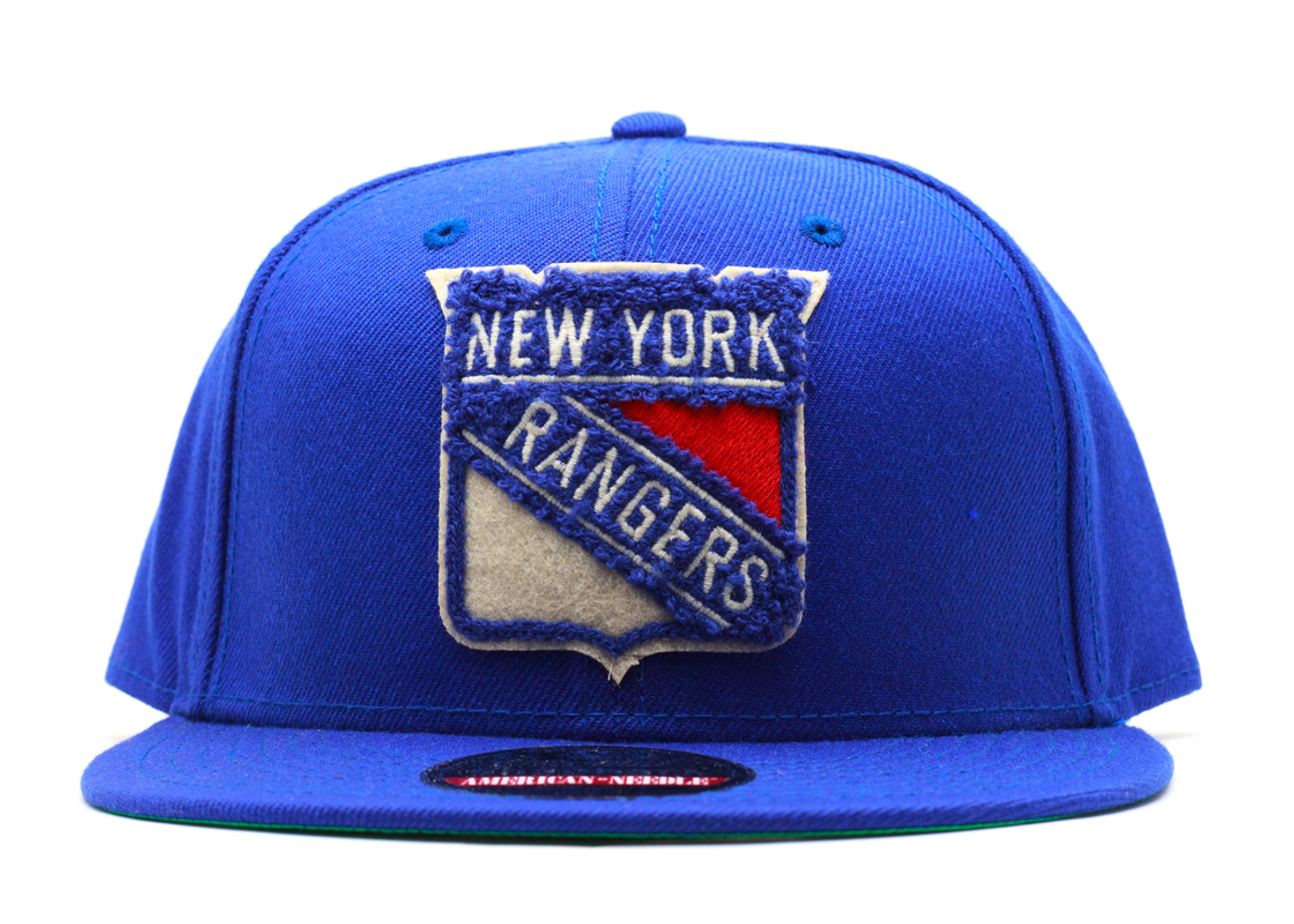 "new york rangers snap-back ""varsity"""