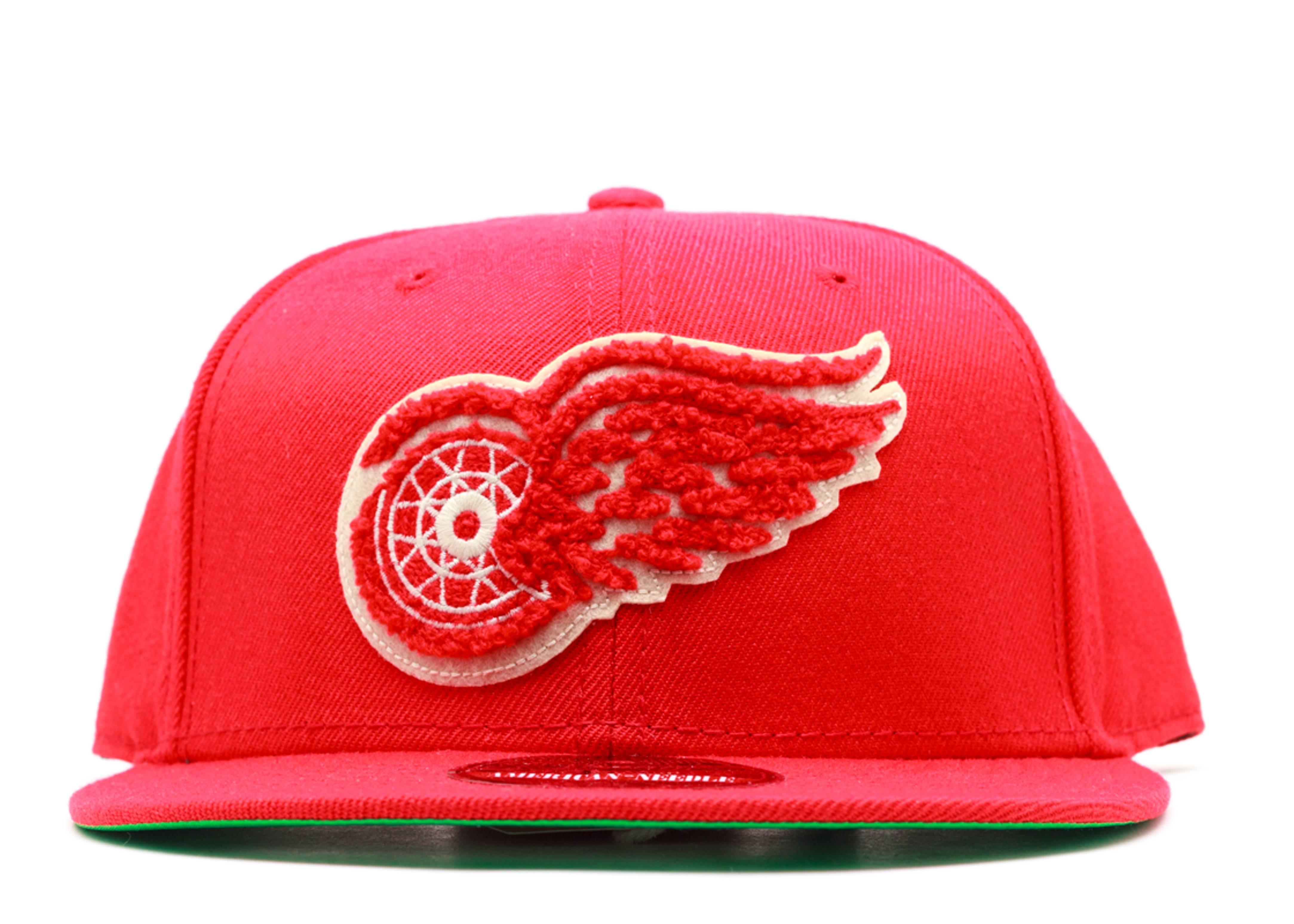 "detroit red wings snap-back ""varsity"""