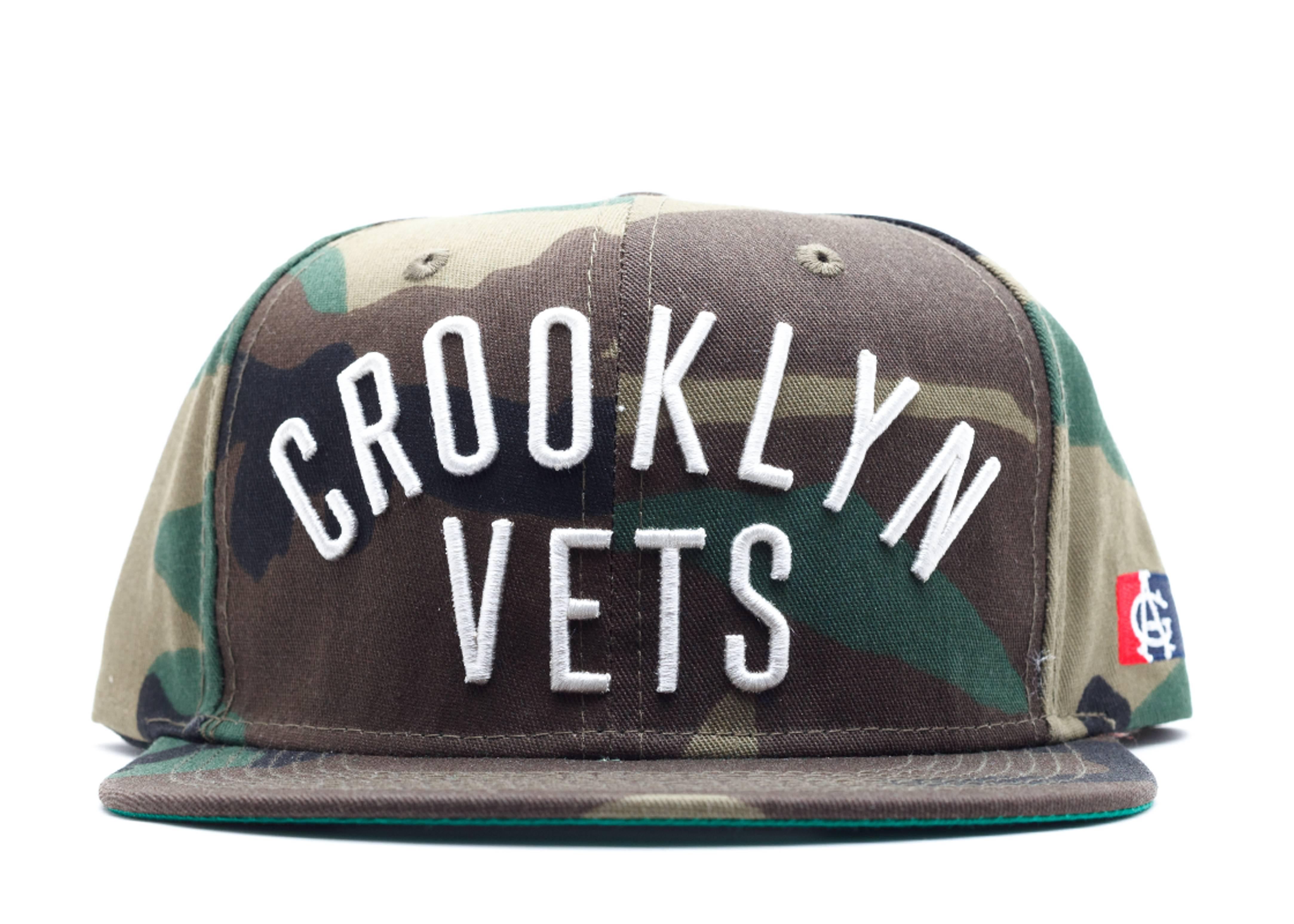 crooklyn vets snap-back