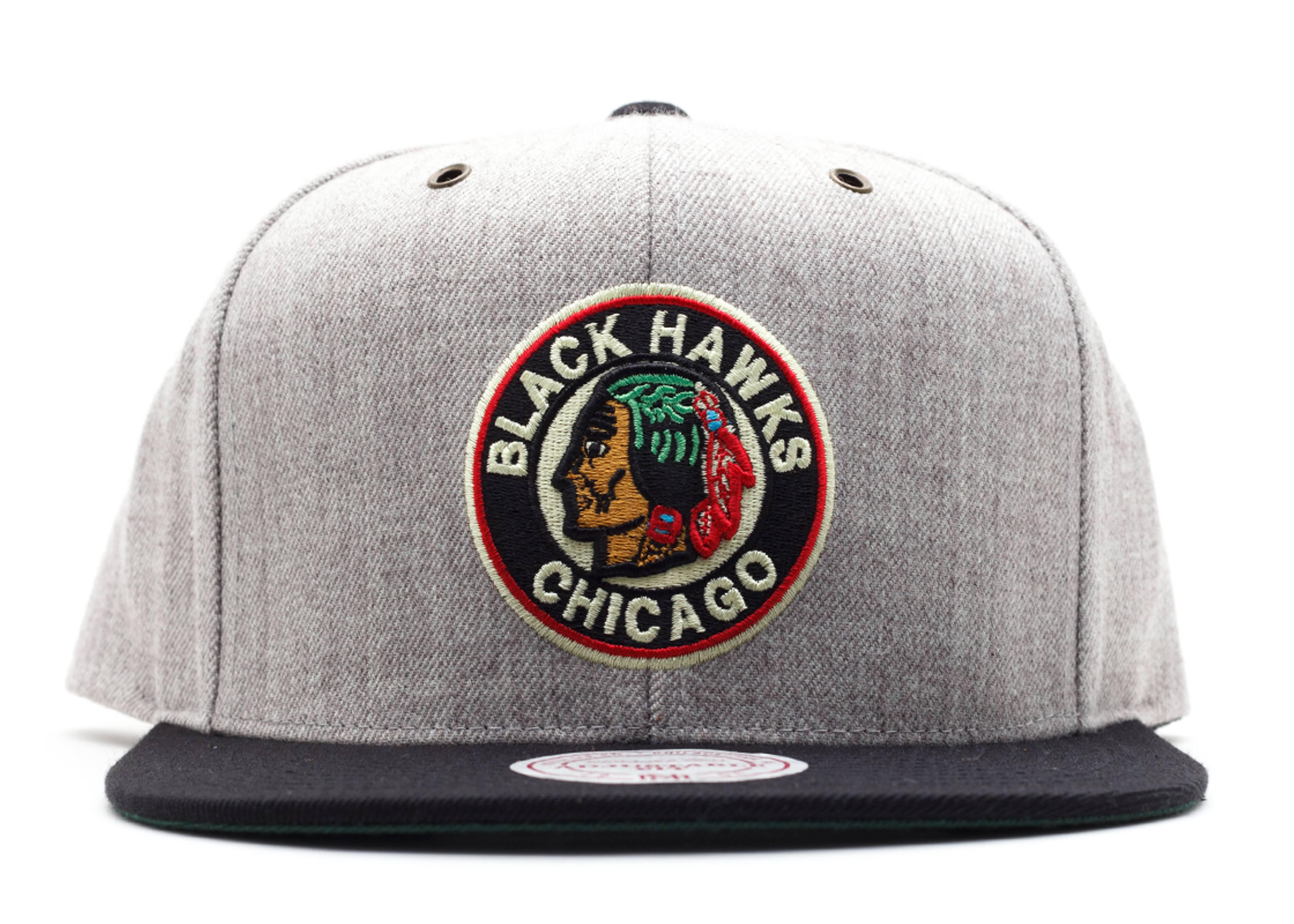 chicago black hawks strap-back