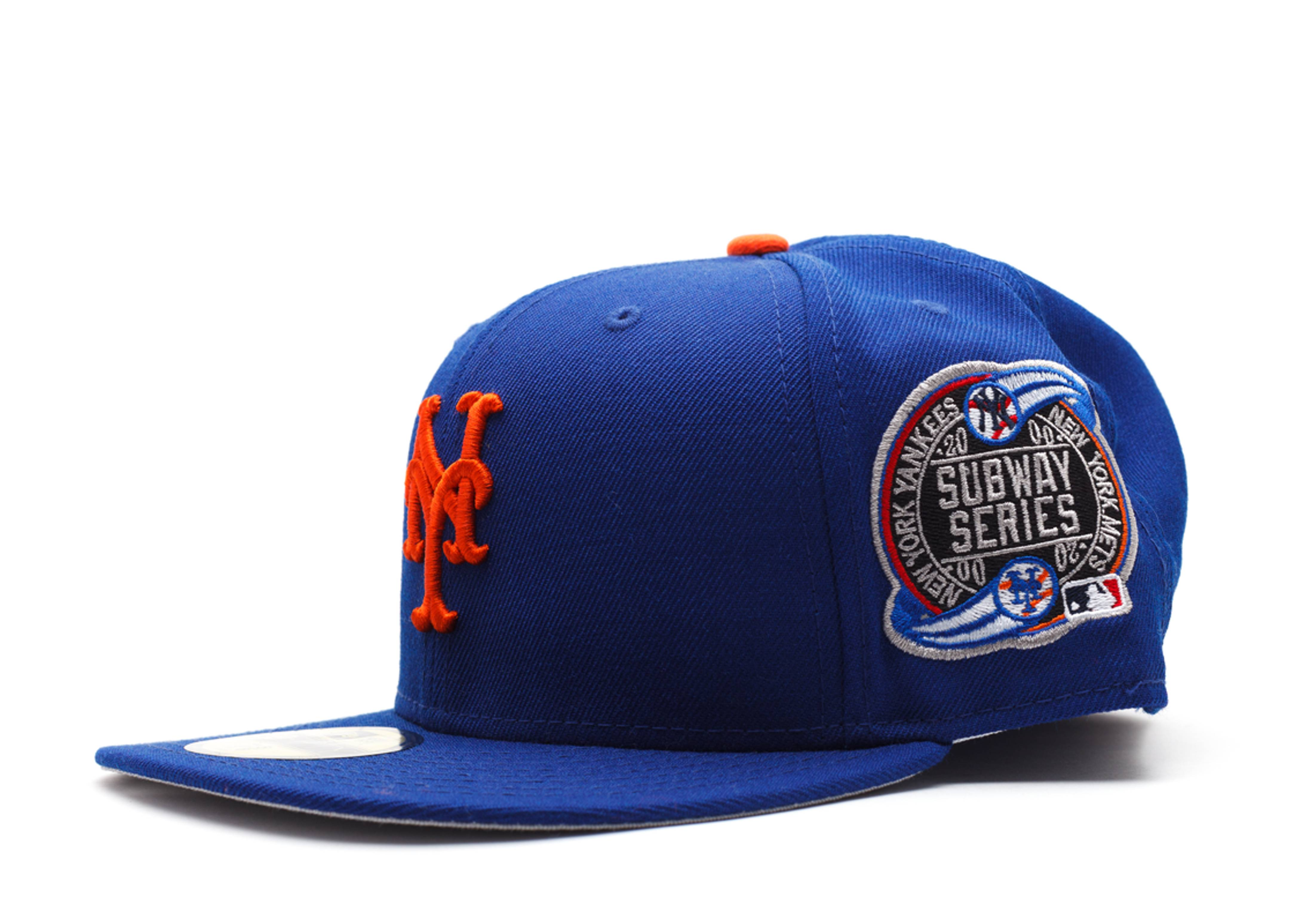 New York Mets Fitted Lt Royal Orange