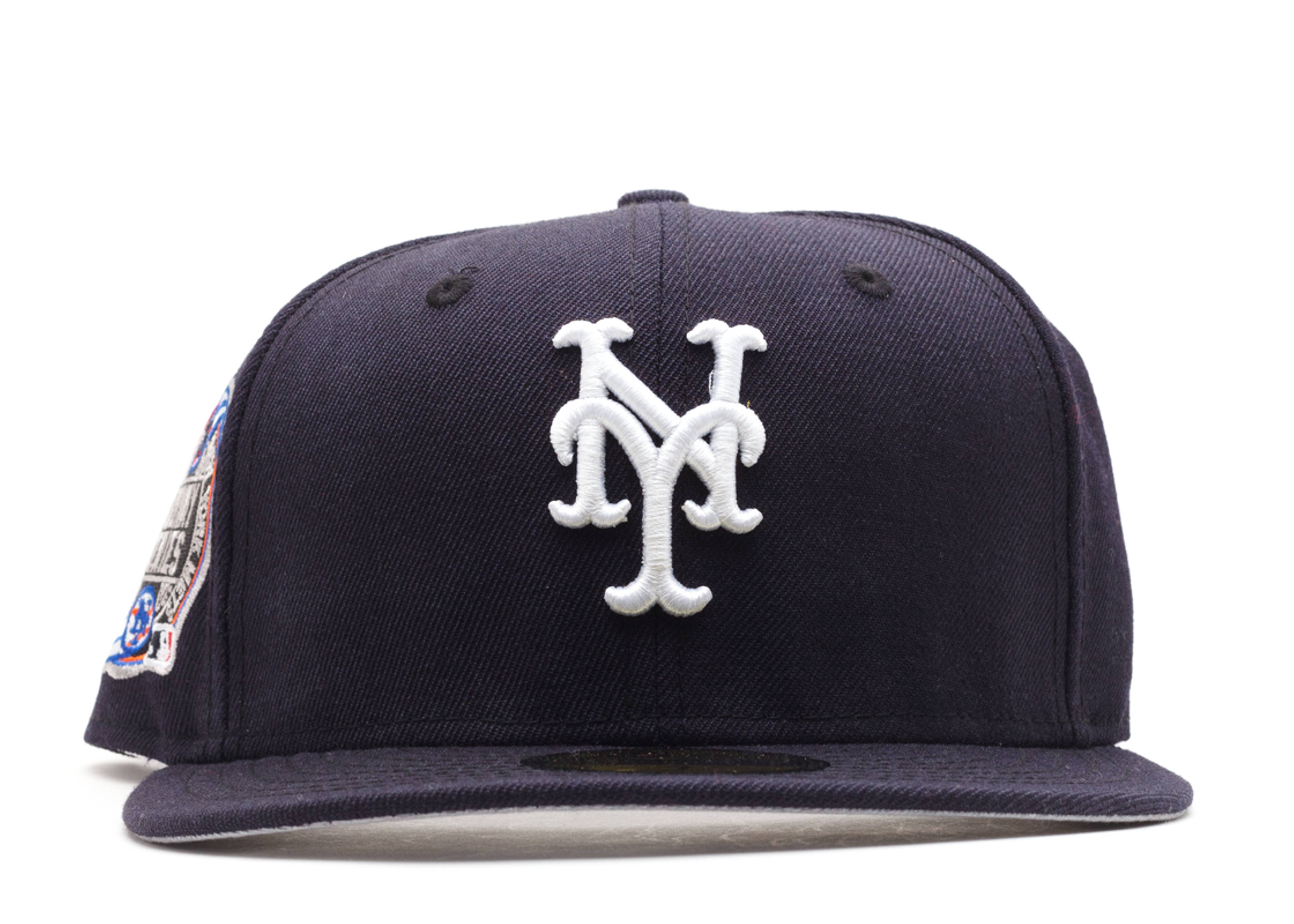 """new york mets fitted """"2000 subway series patch"""""""