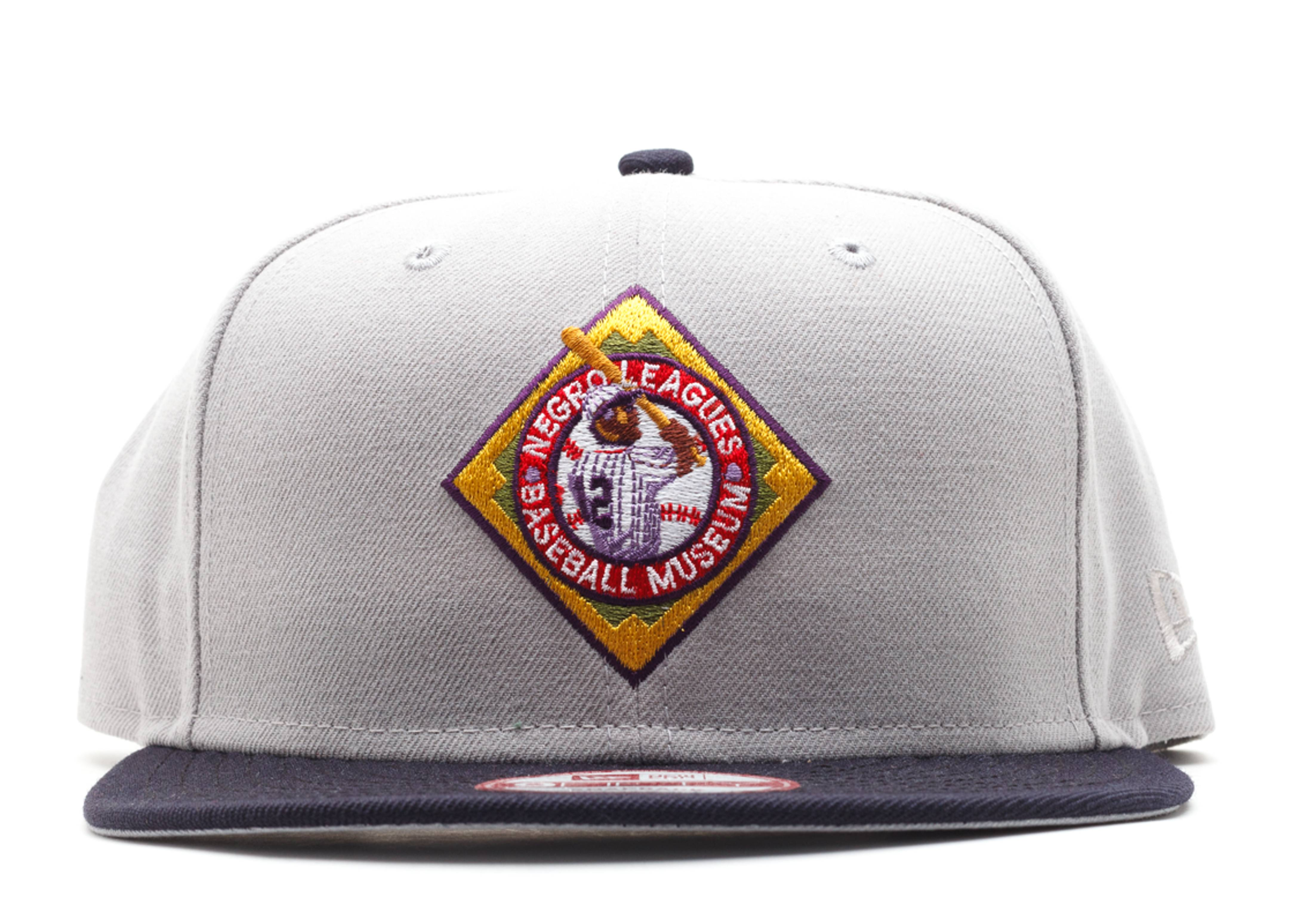 negro league baseball museum snap-back