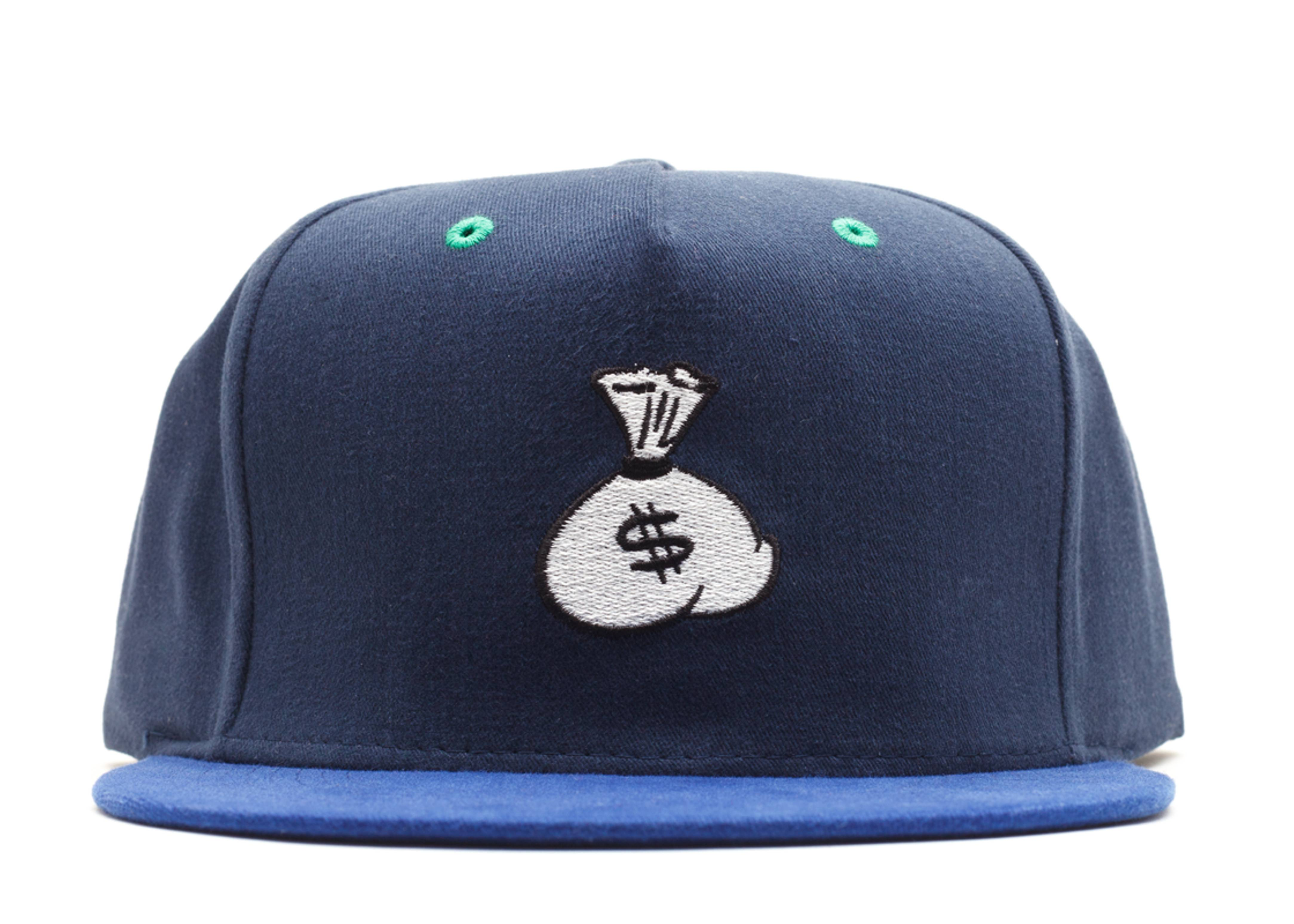 money bags snap-back