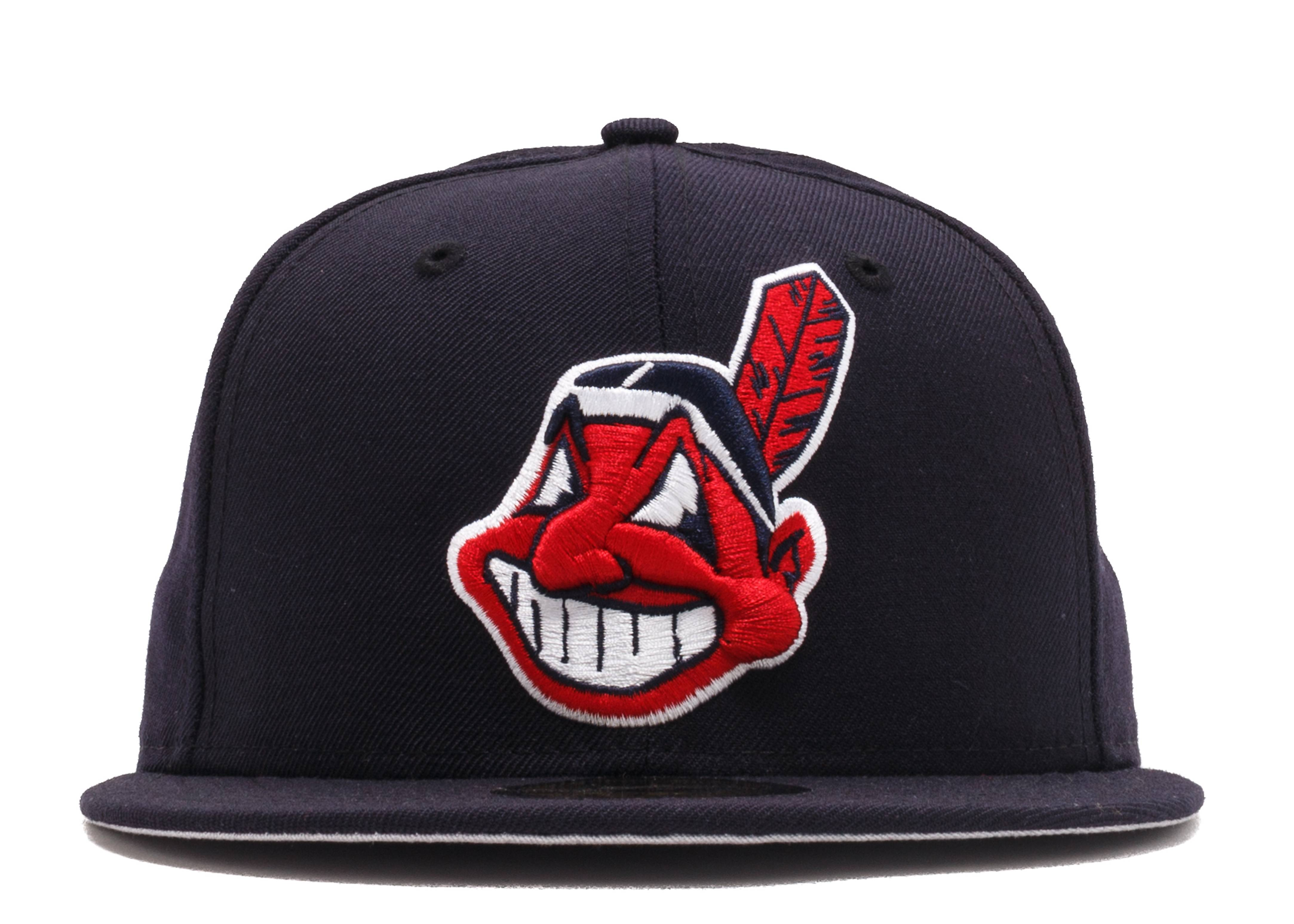 """cleveland indians fitted """"'99-'02 Road"""""""