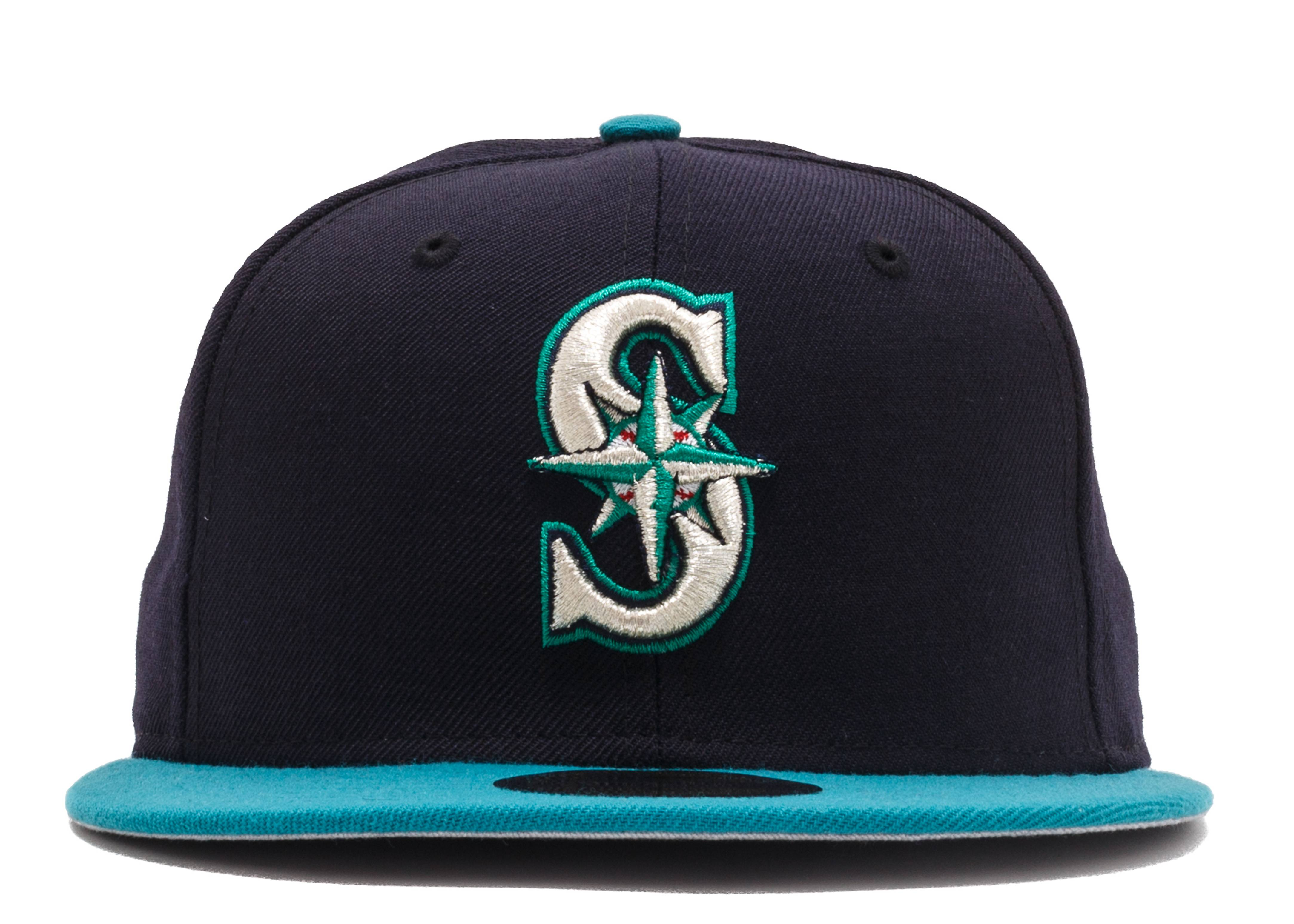 """seattle mariners fitted """"'99-'03 Home"""""""