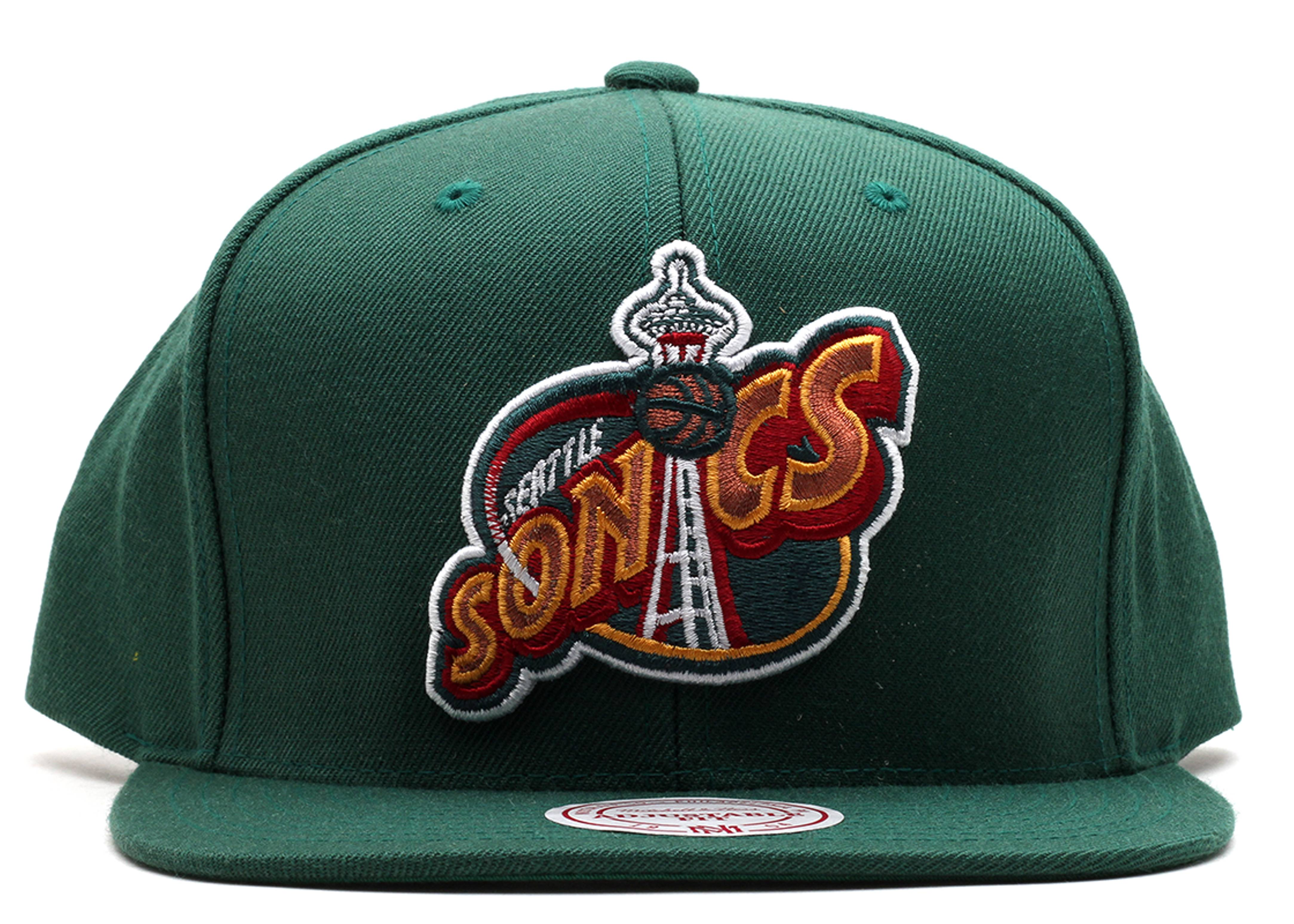 seattle supersonics snap-back