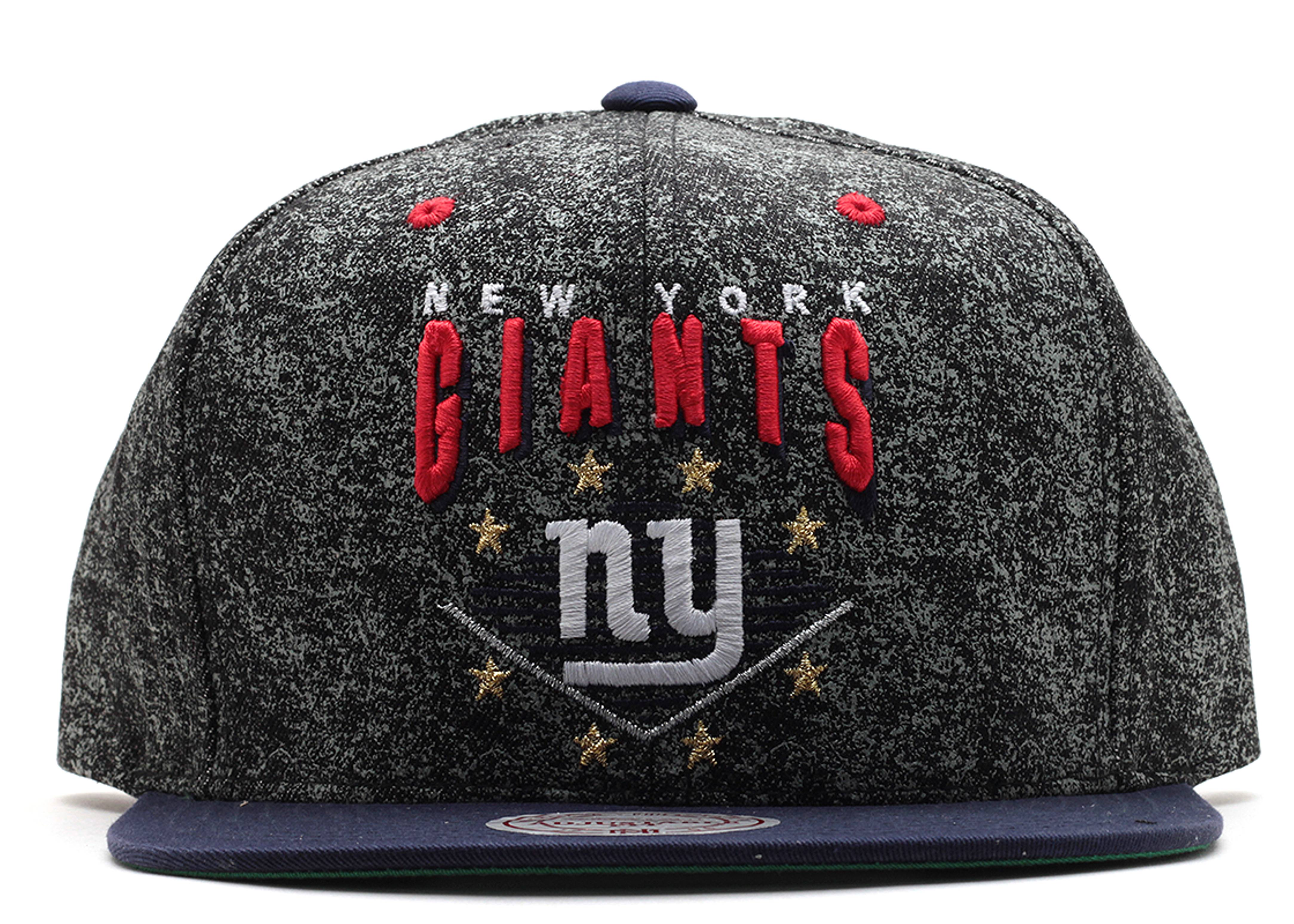 "new york giants snap-back ""diamond marquee"""