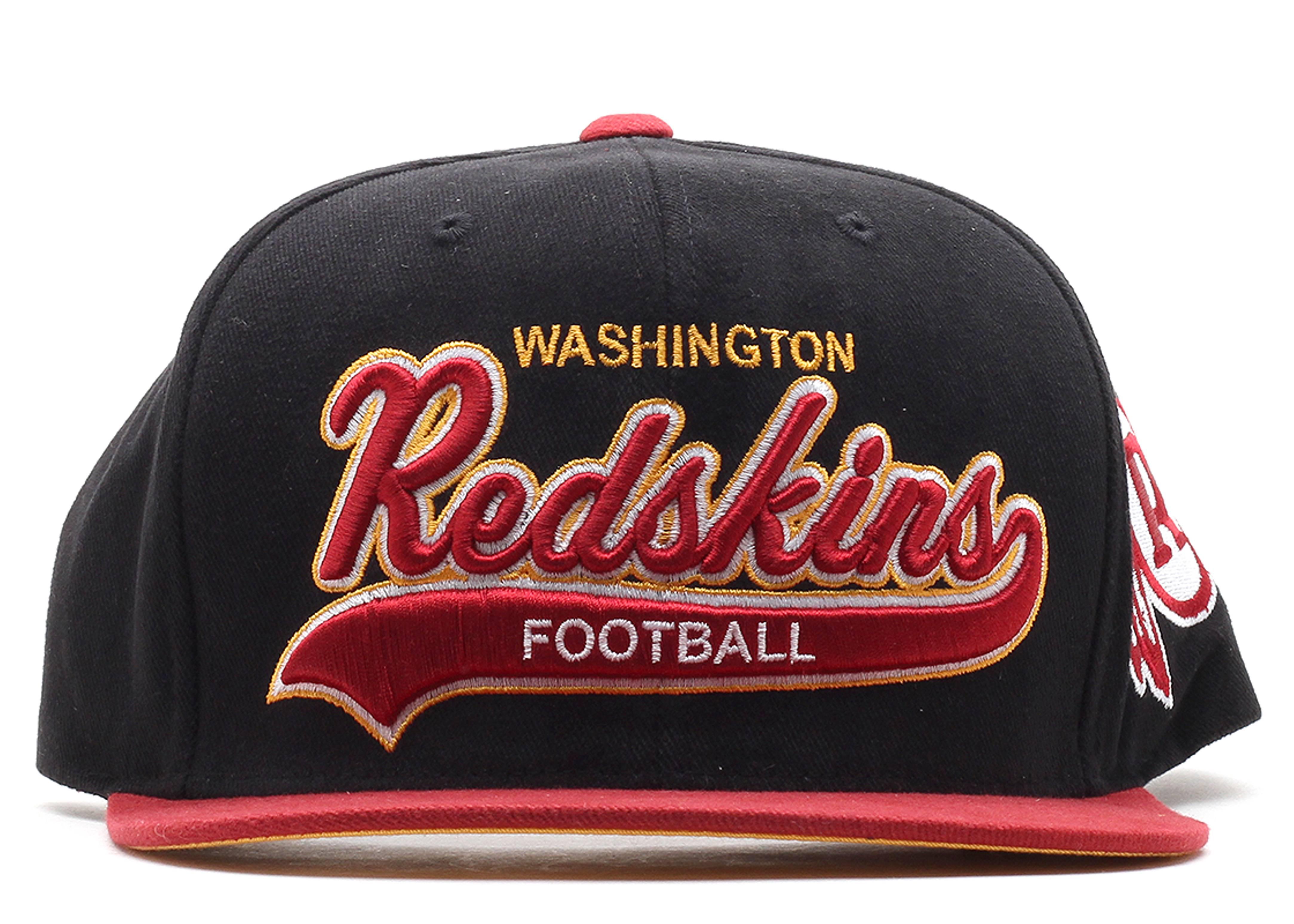 washington redskins snap-back