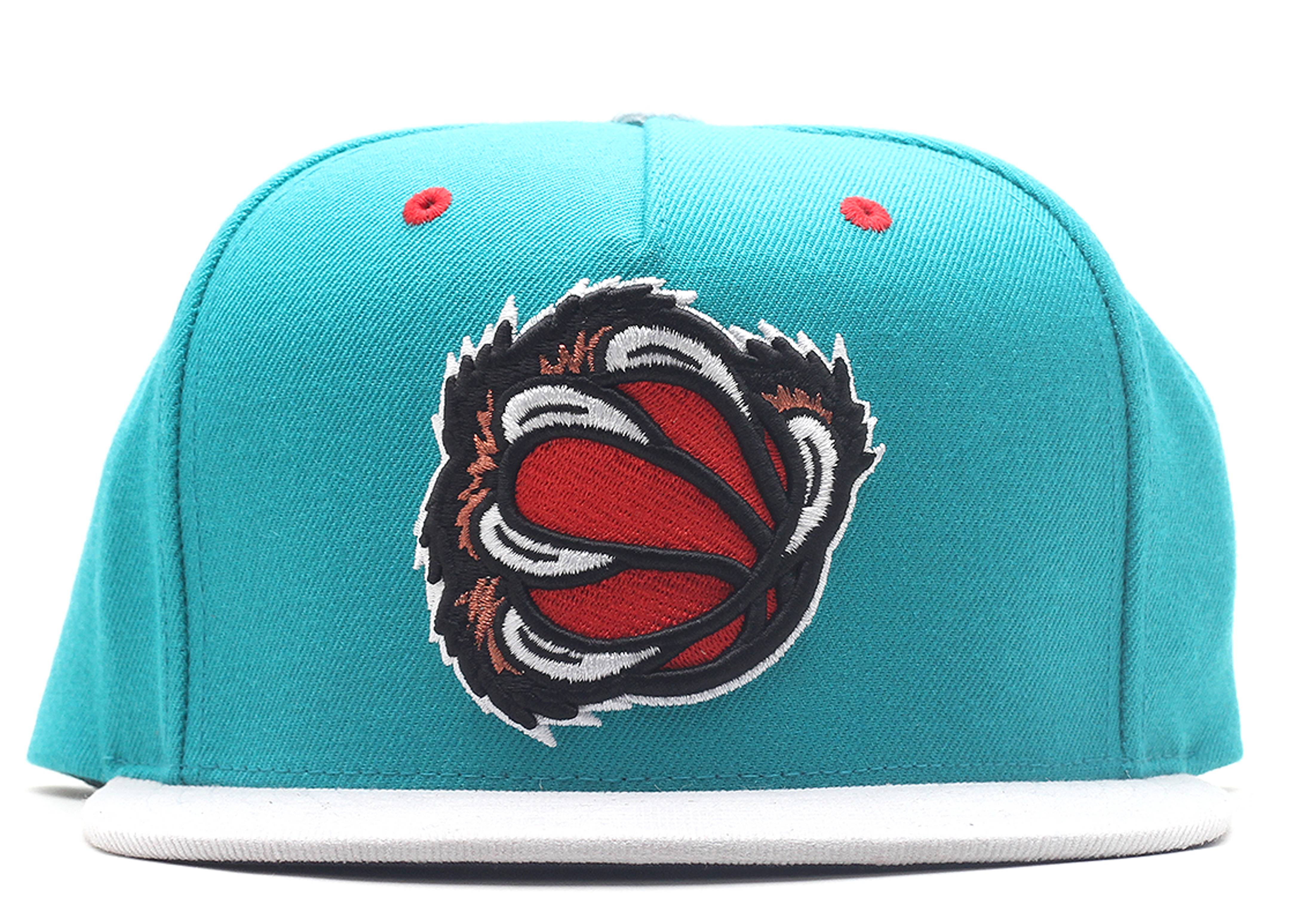 "vancouver grizzlies strap-back ""cord visor"""