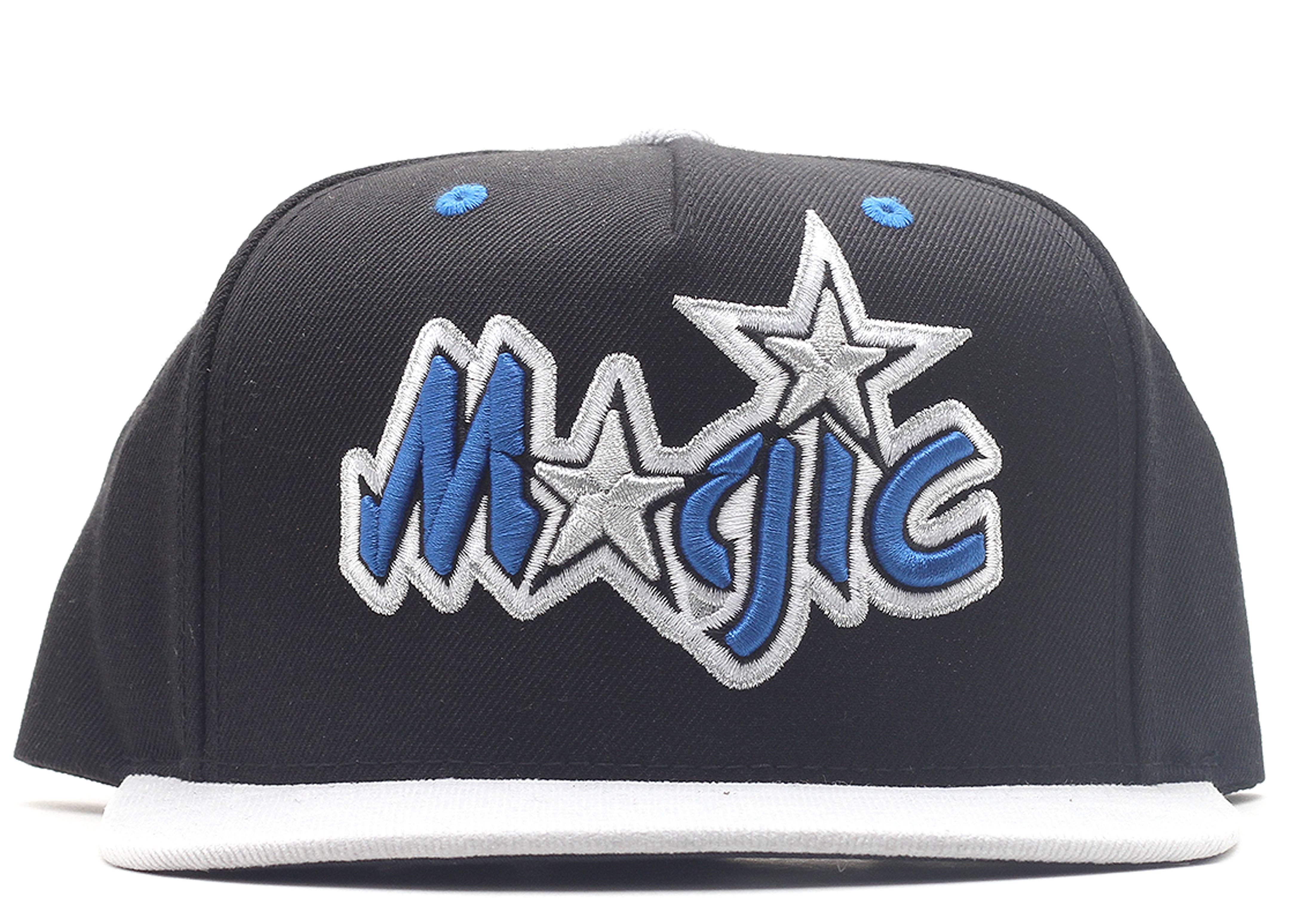 "orlando magic strap-back ""cord visor"""