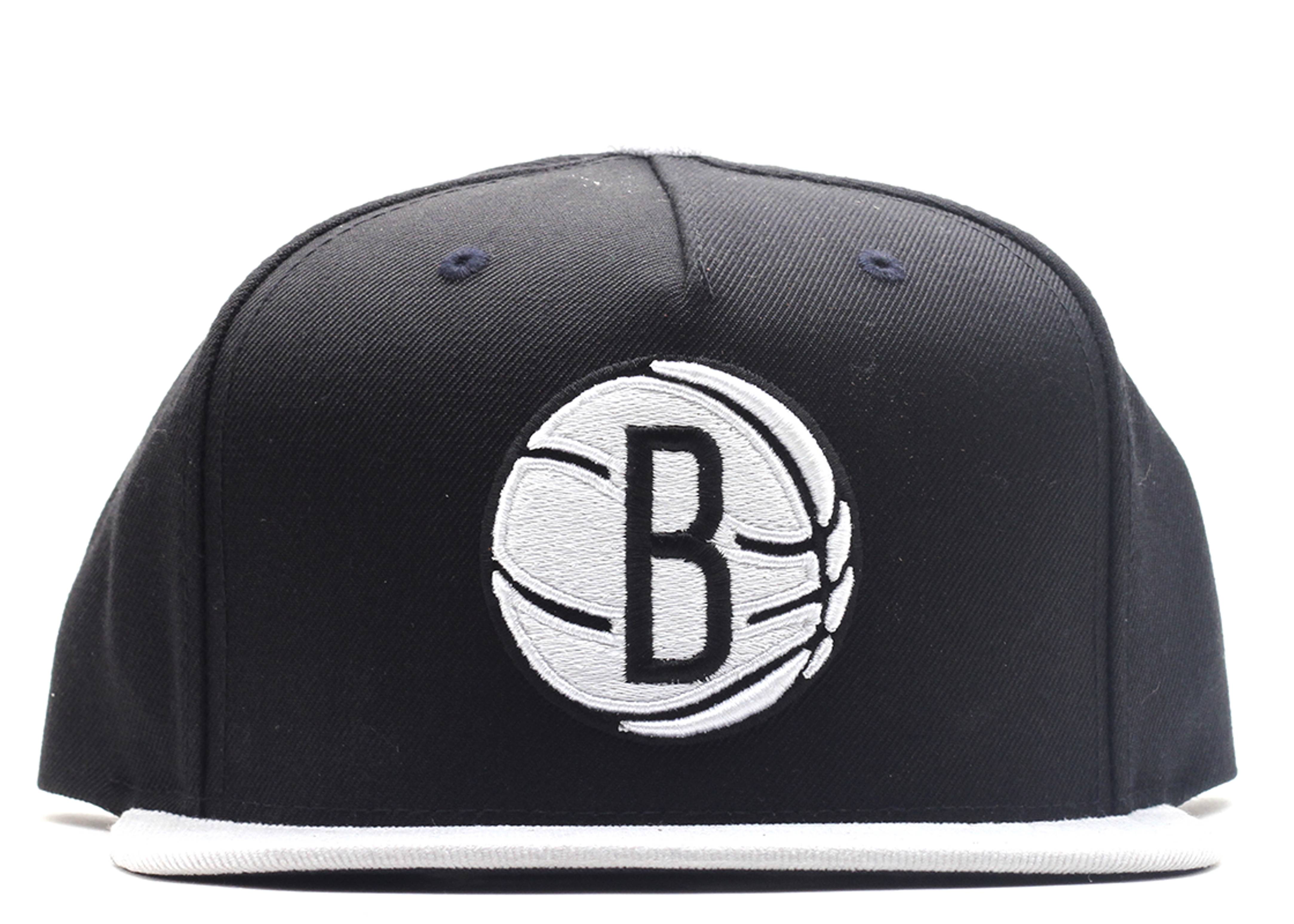 "brooklyn nets strap-back ""cord visor"""