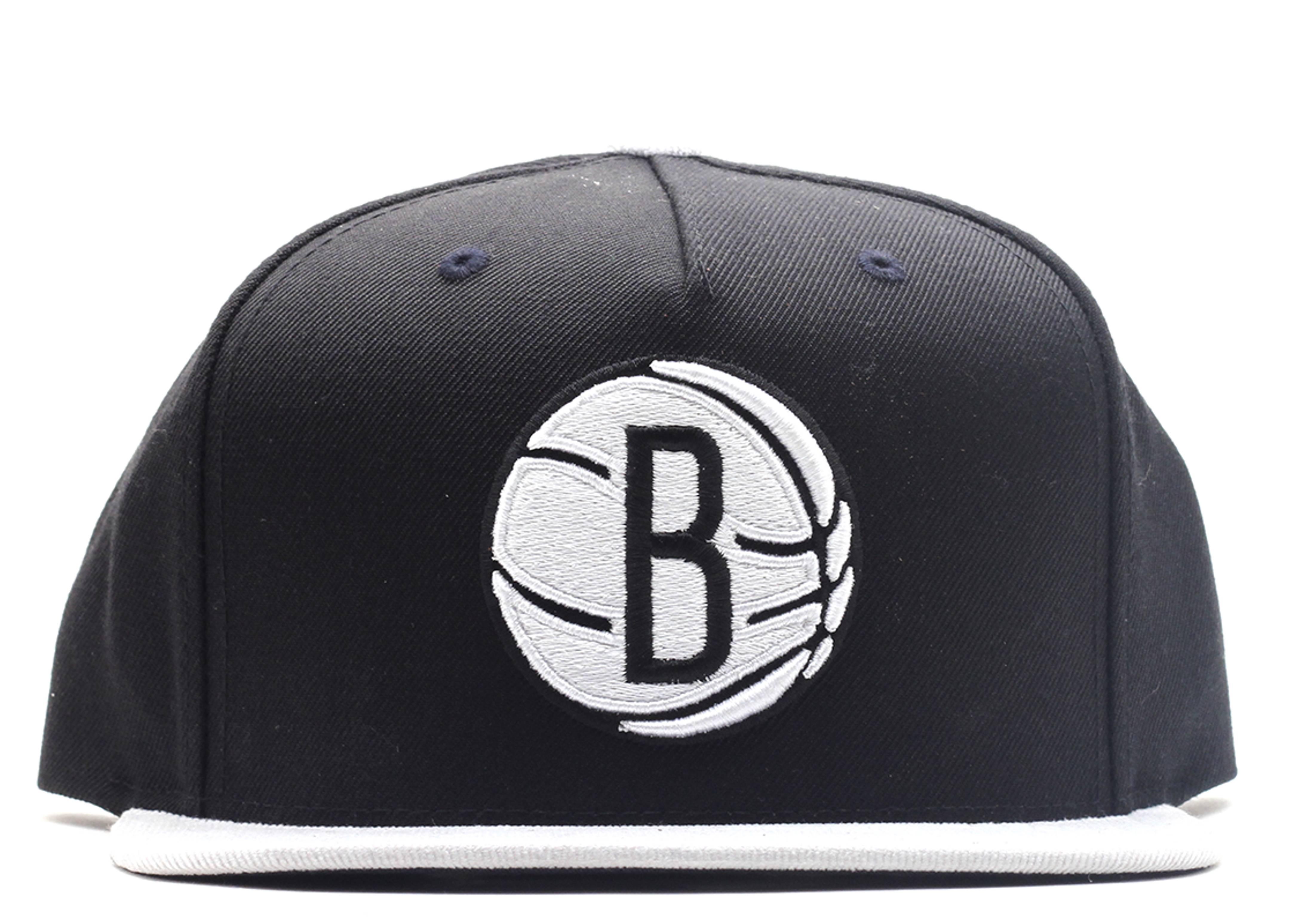 "brooklyn nets strap-back ""cord visor"""