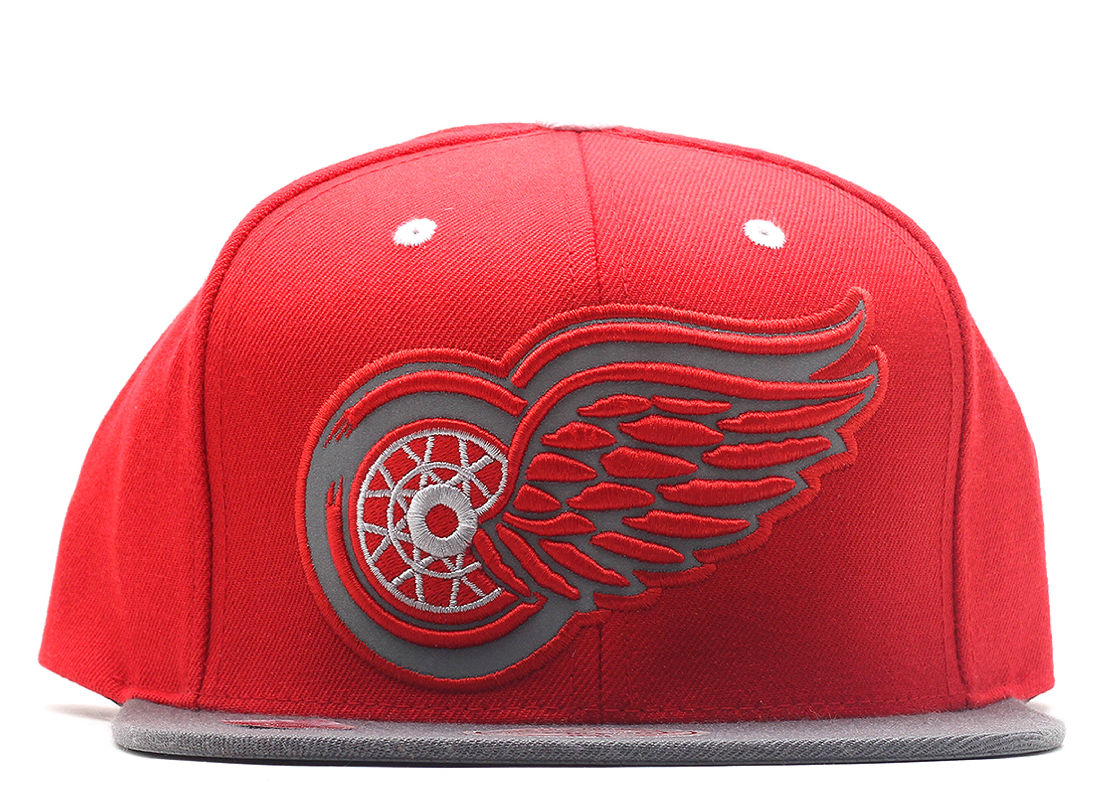 "detroit red wings snap-back ""3m"""