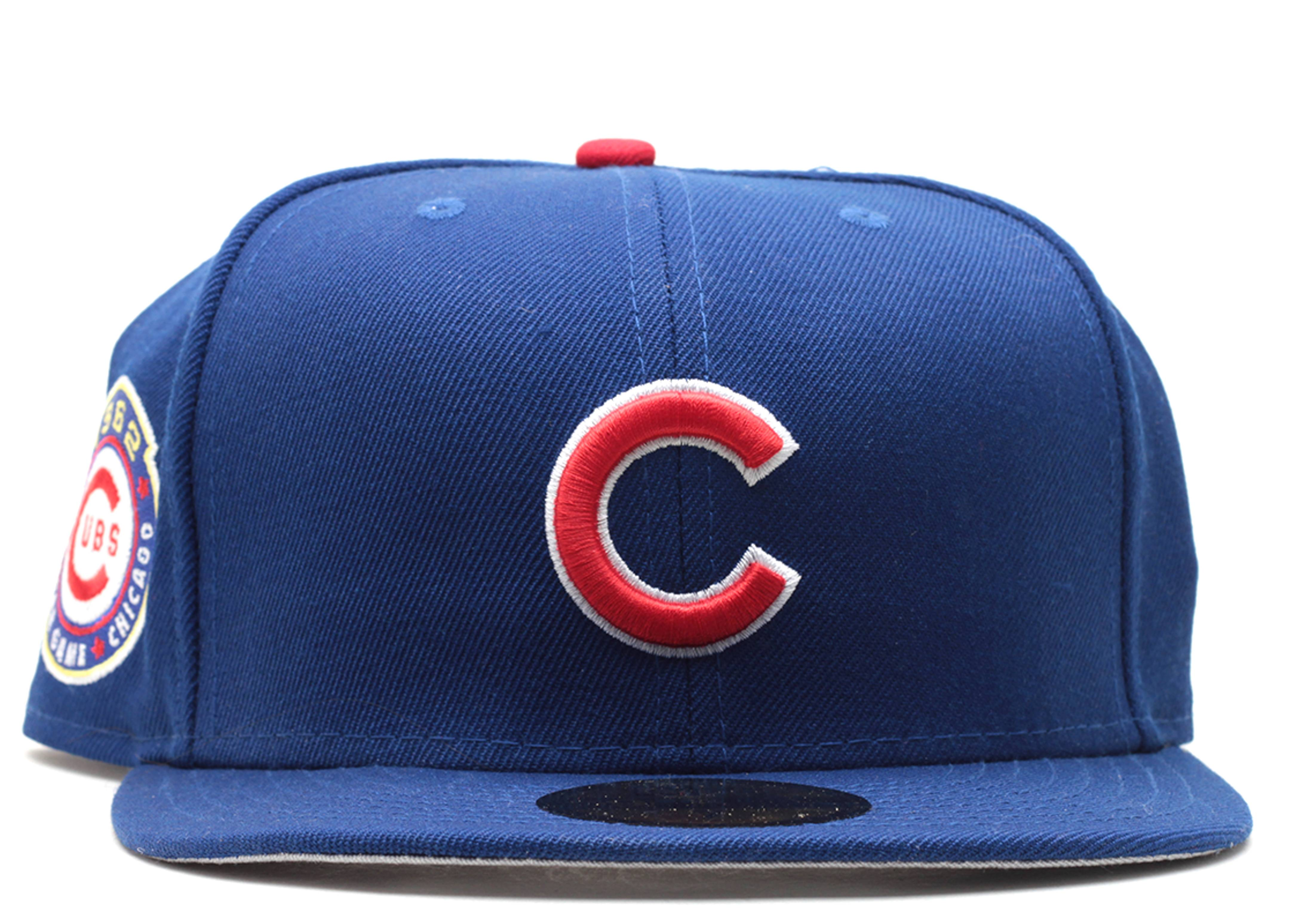 """chicago cubs fitted """"1962 all-star game"""""""