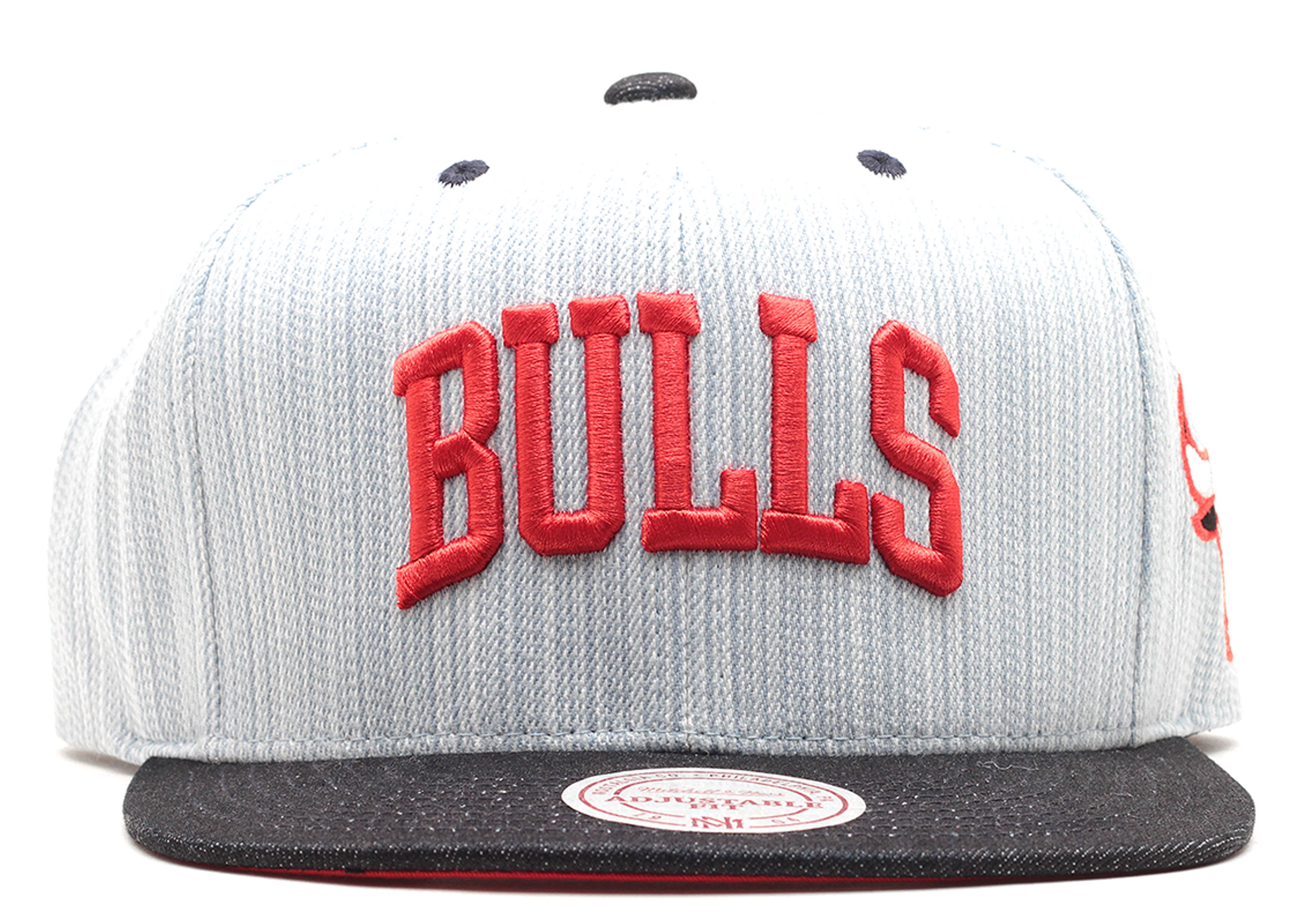 "chicago bulls snap-back ""denim"""