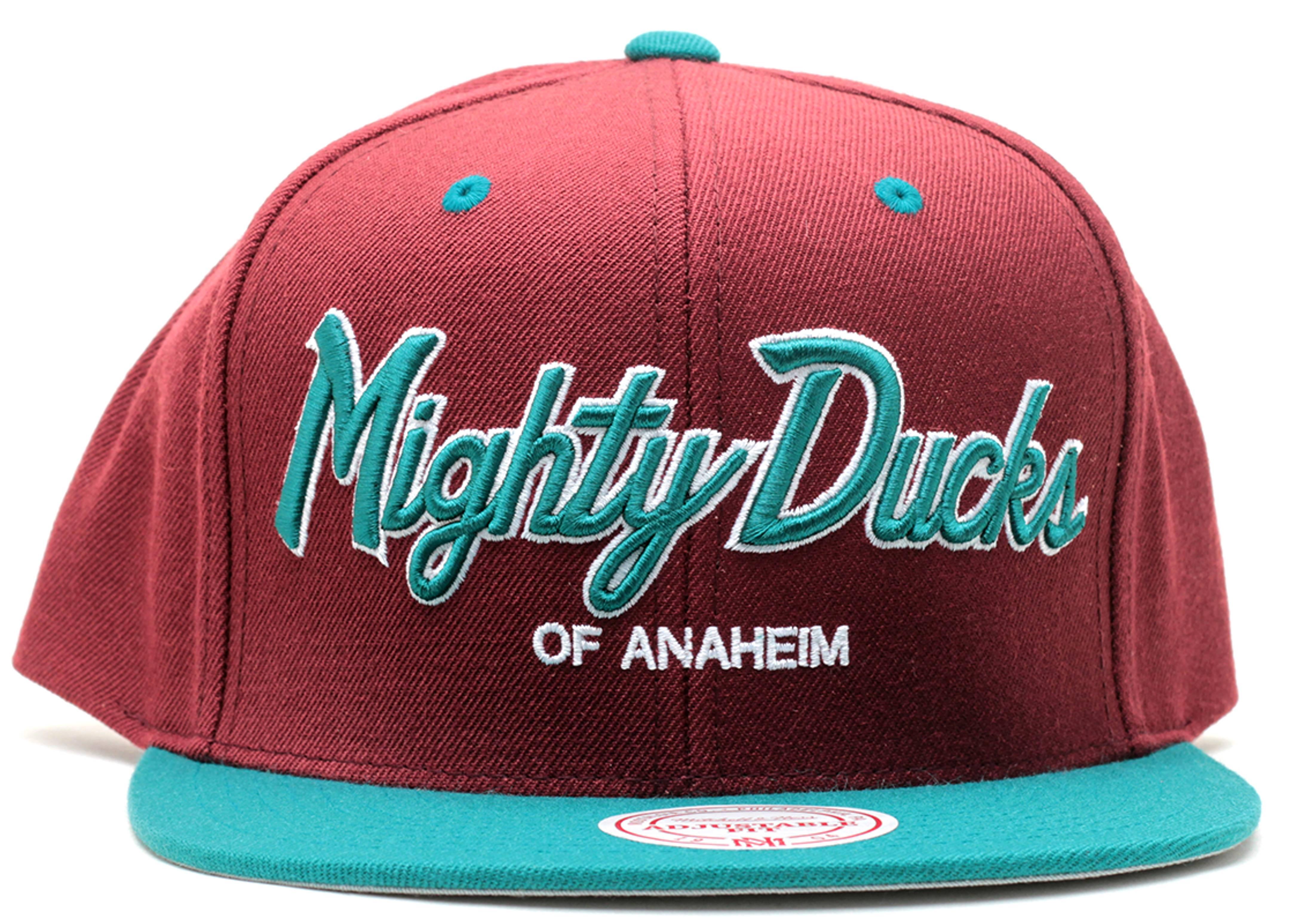 anaheim mighty ducks snap-back