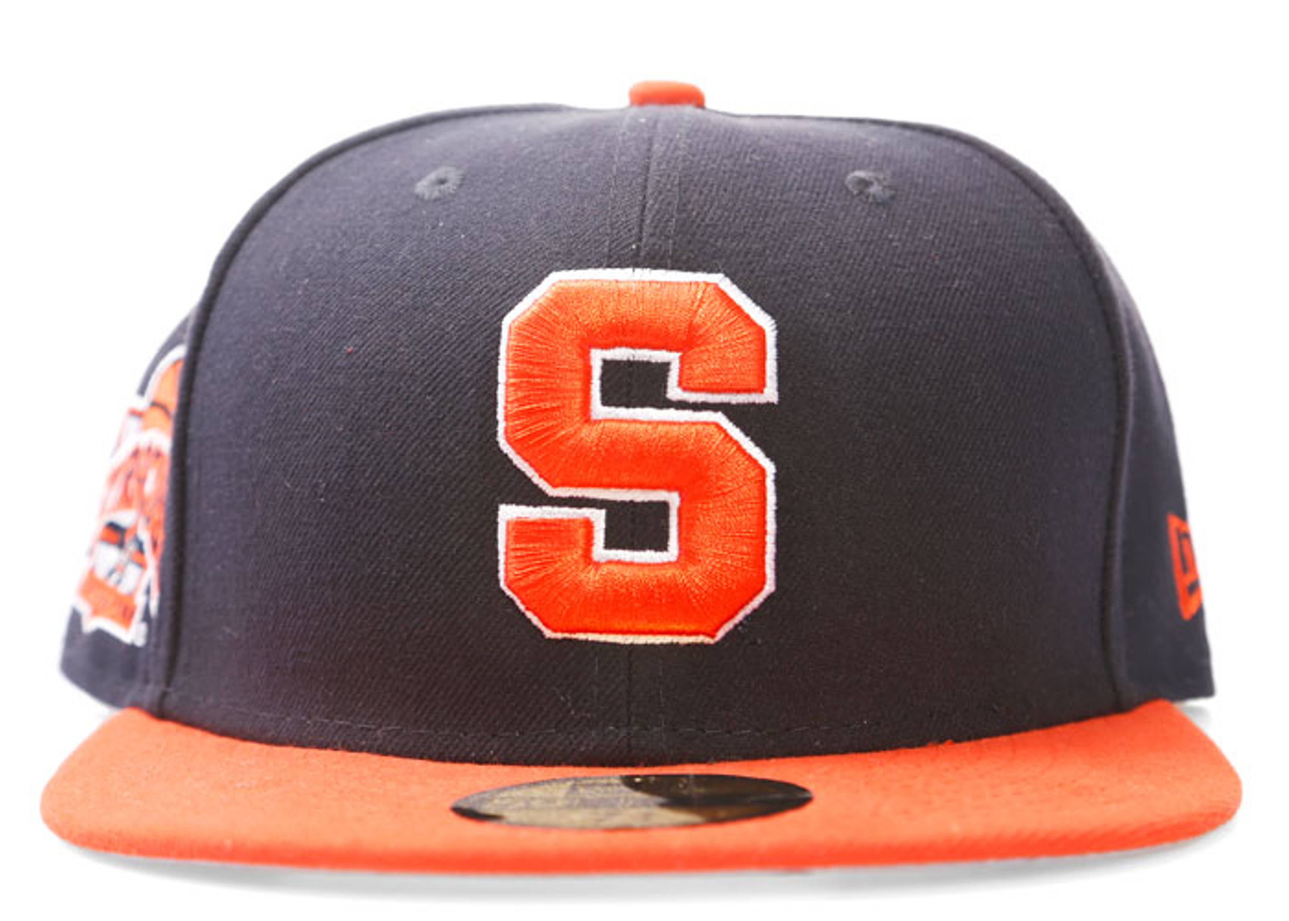 """syracuse university fitted """"side patch"""""""