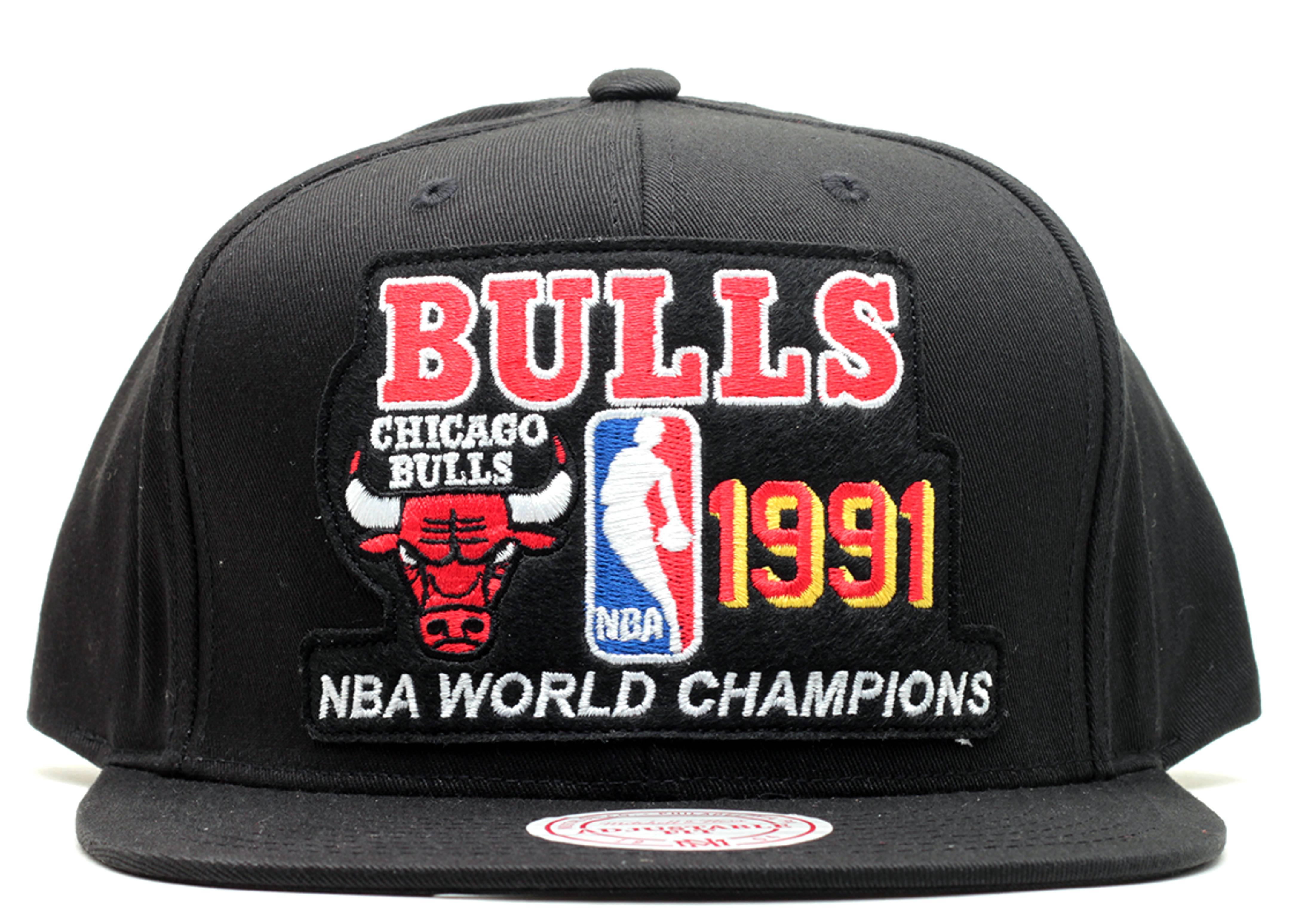 "chicago bulls snap-back ""1991 champions"""