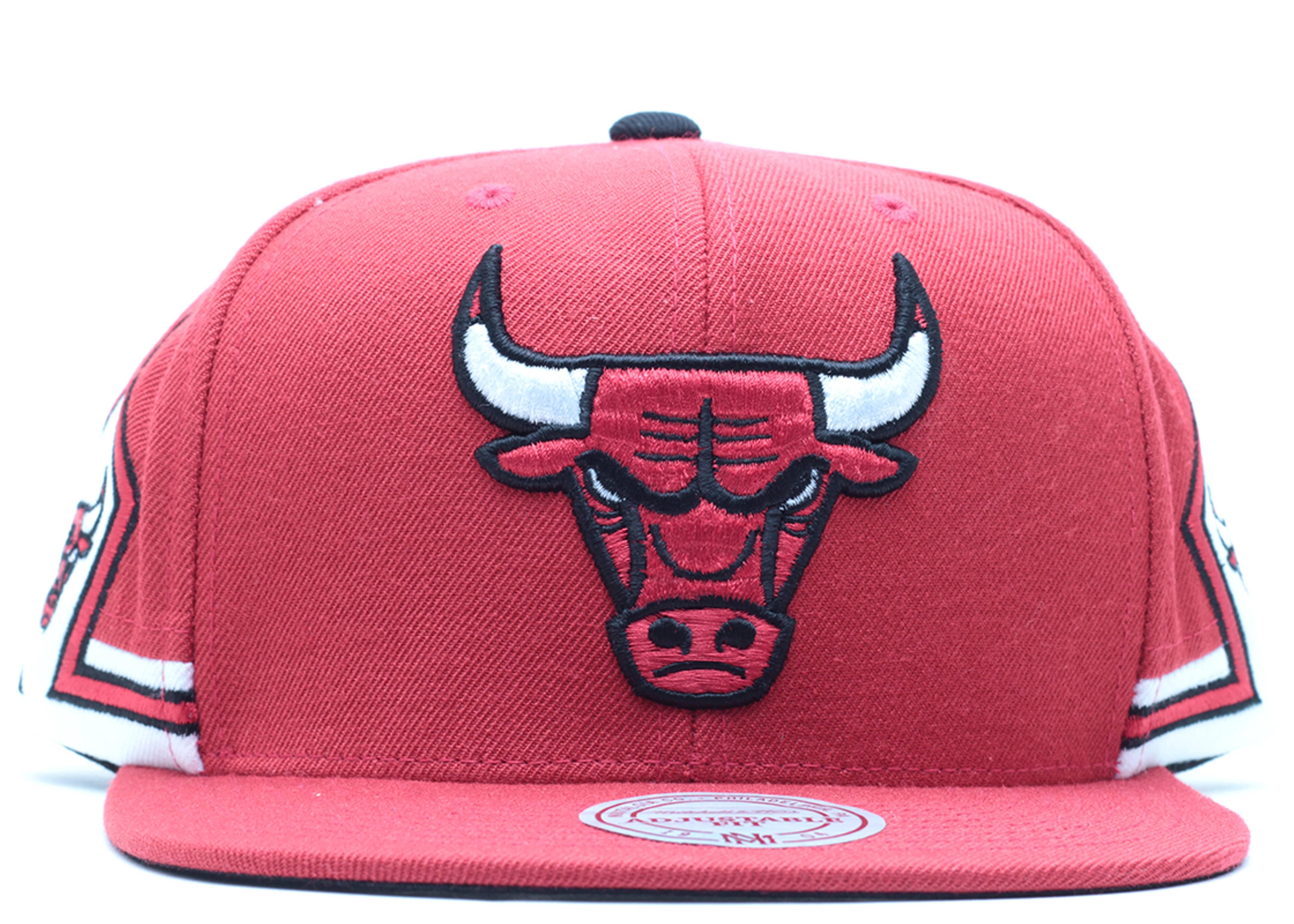 "chicago bulls snap-back ""triple sies"""