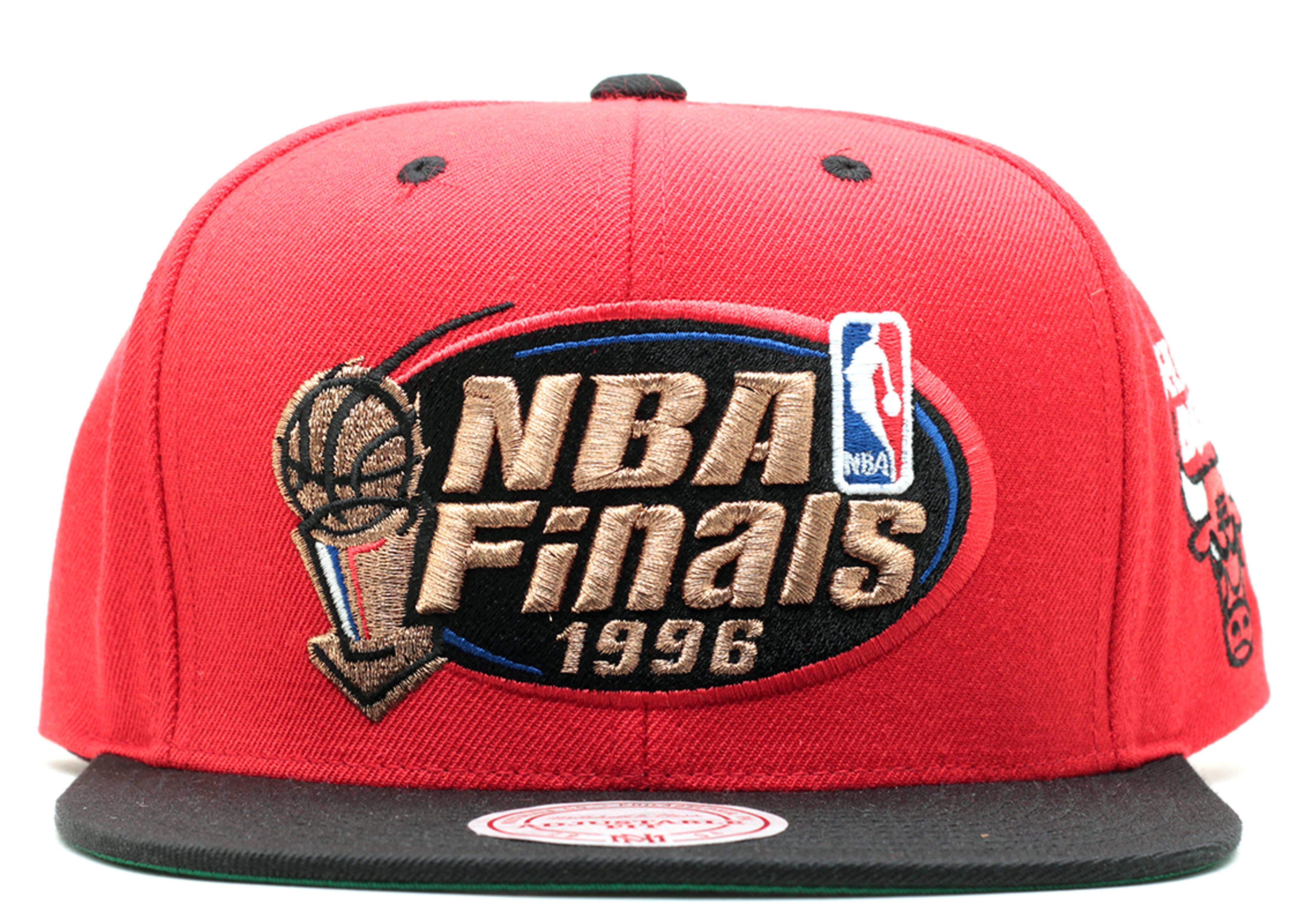 """chicago bulls snap-back """"1996 nba finals"""""""