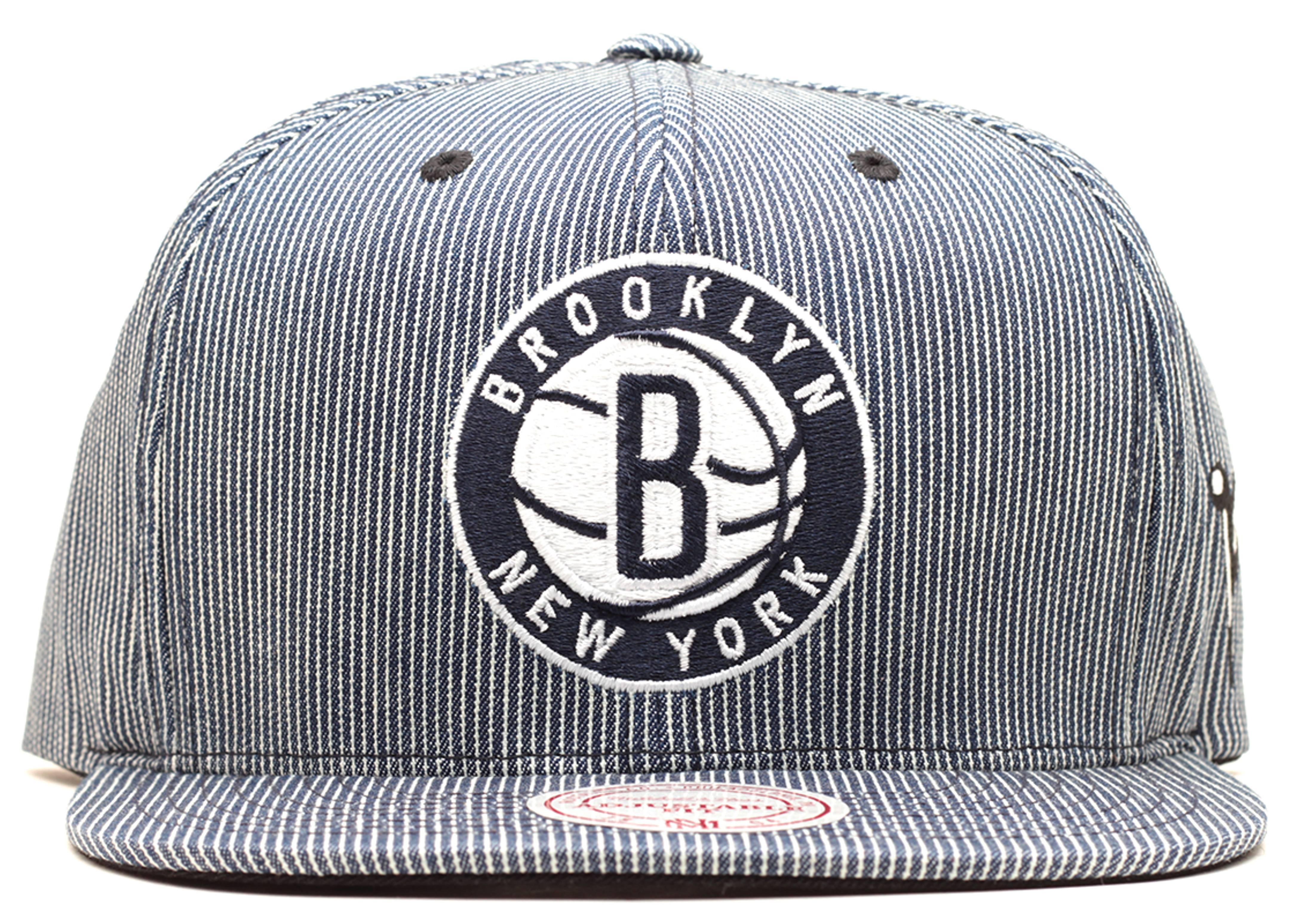 "brooklyn nets strap-back ""hickory"""