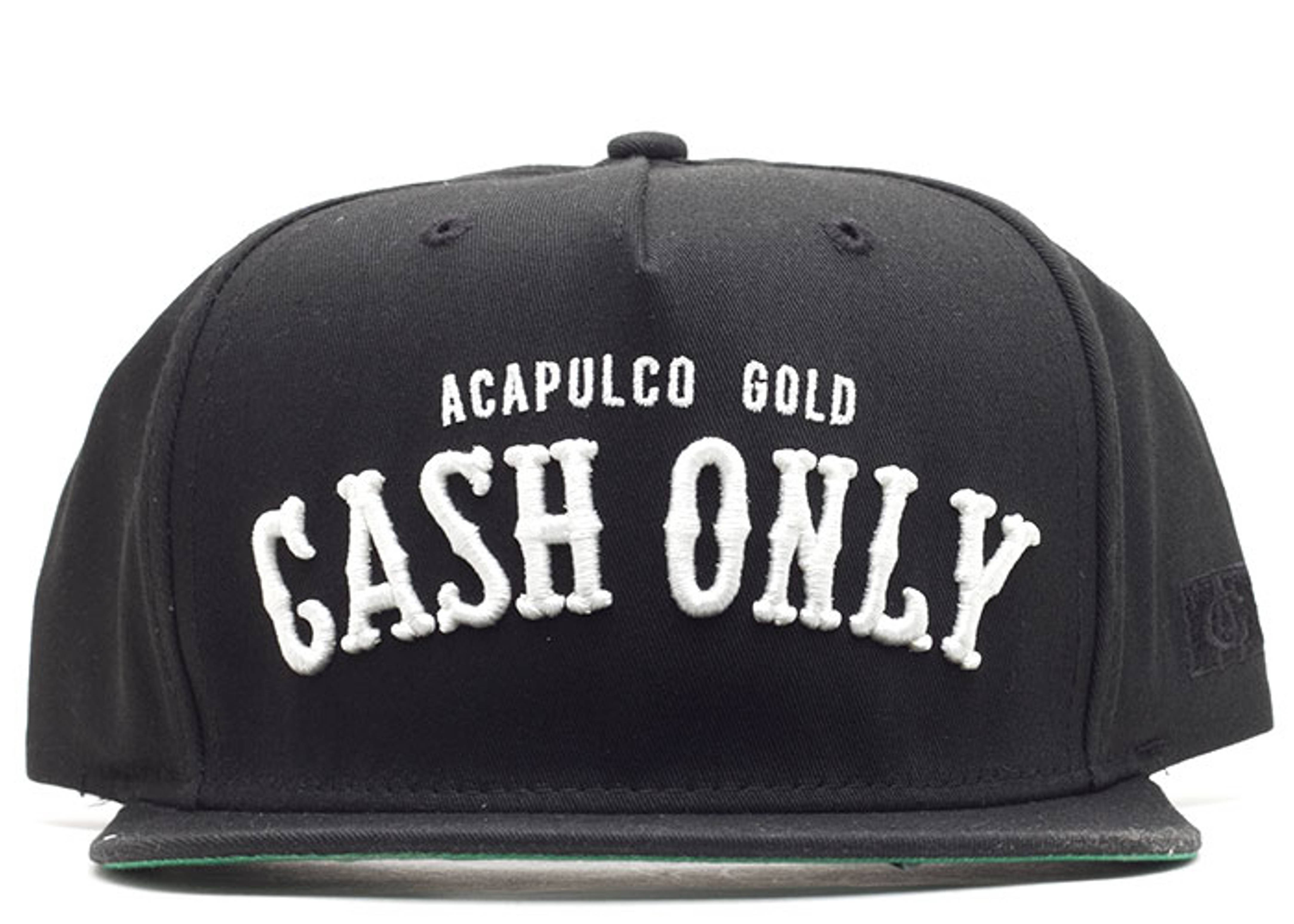 cash only snap-back