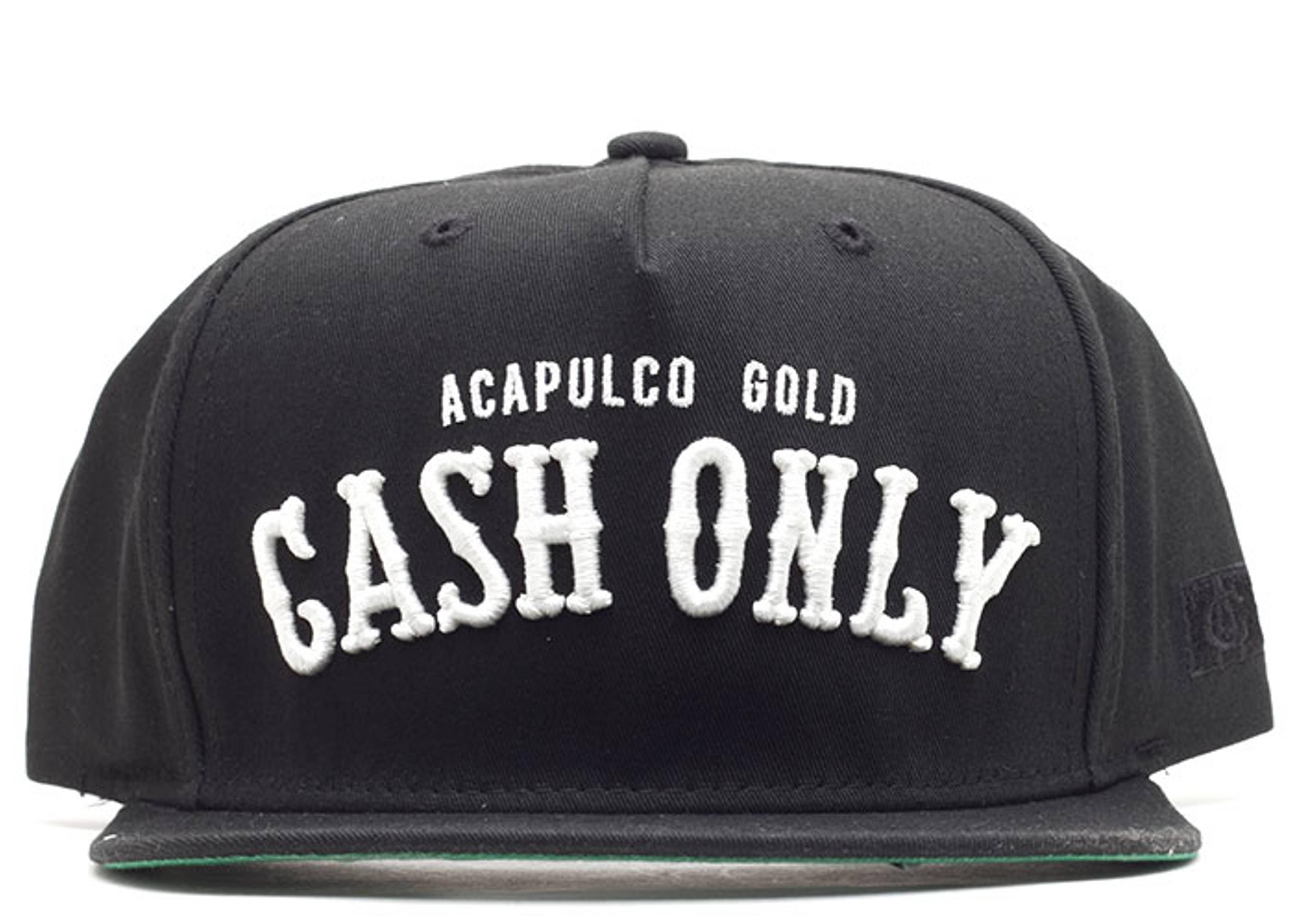 cash only snap-back
