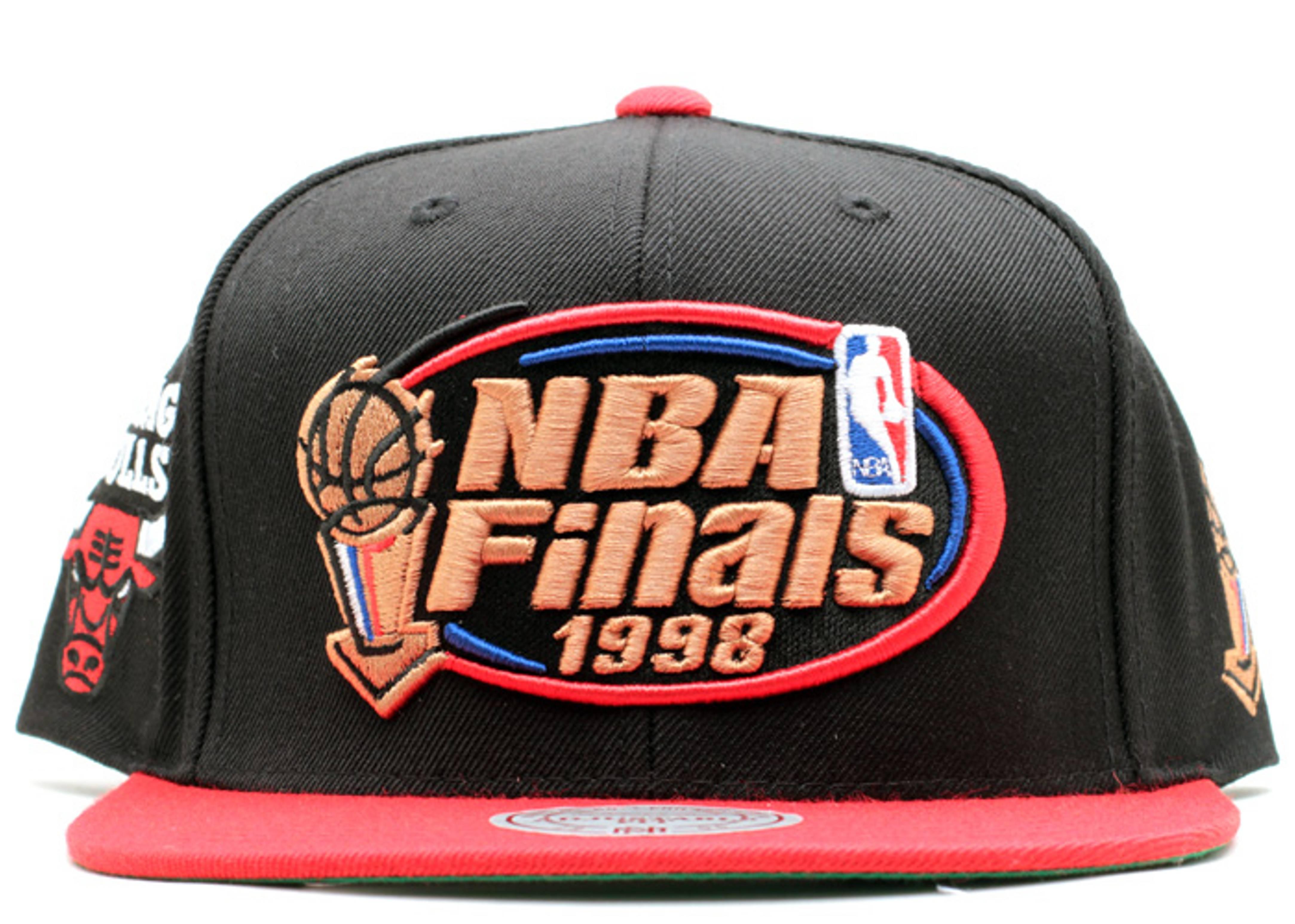"""chicago bulls snap-back """"nba finals '98"""""""