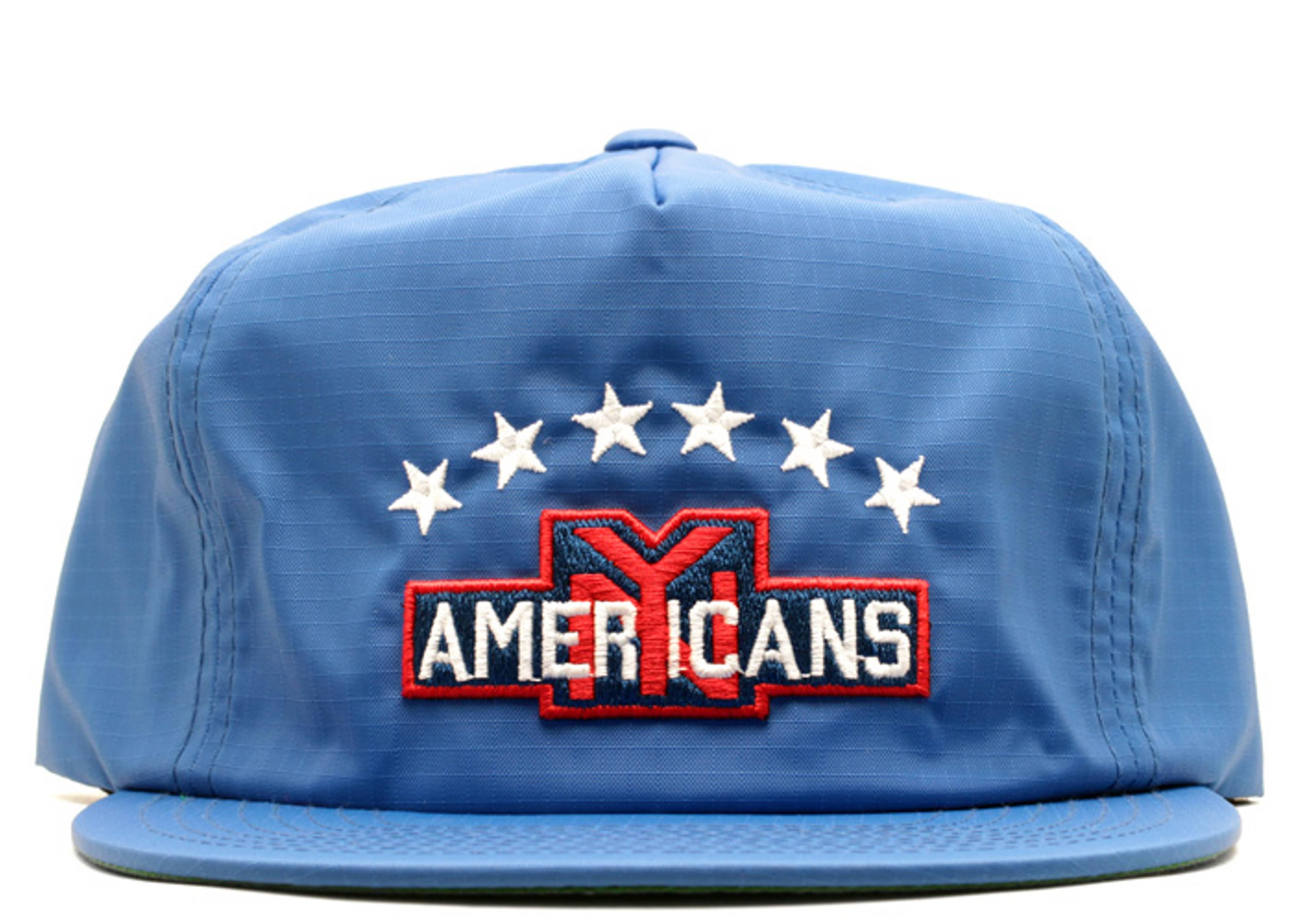 "new york americans zip-back ""nylon"""